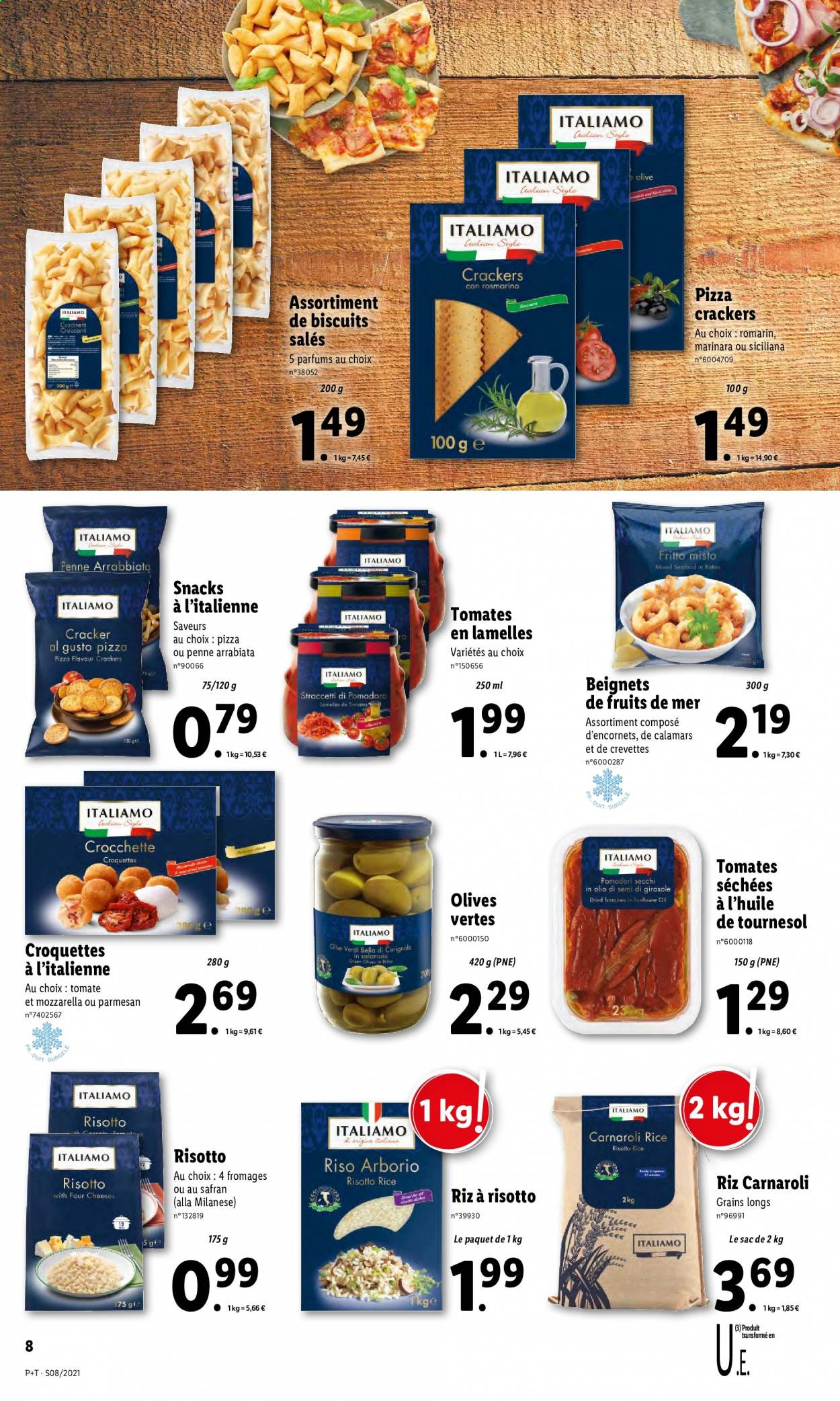 Catalogue Lidl - 24.02.2021 - 02.03.2021. Page 8.