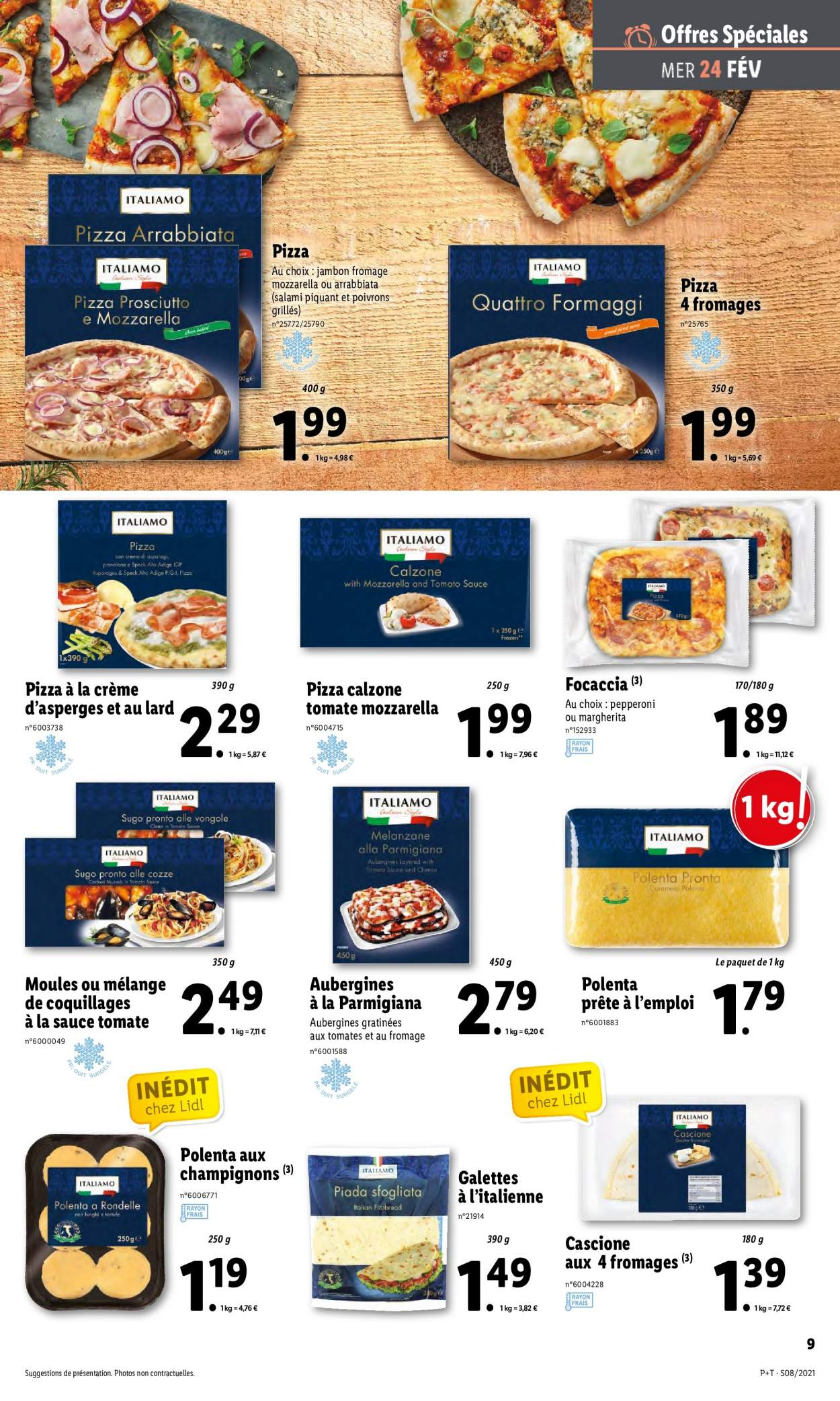 Catalogue Lidl - 24.02.2021 - 02.03.2021. Page 9.