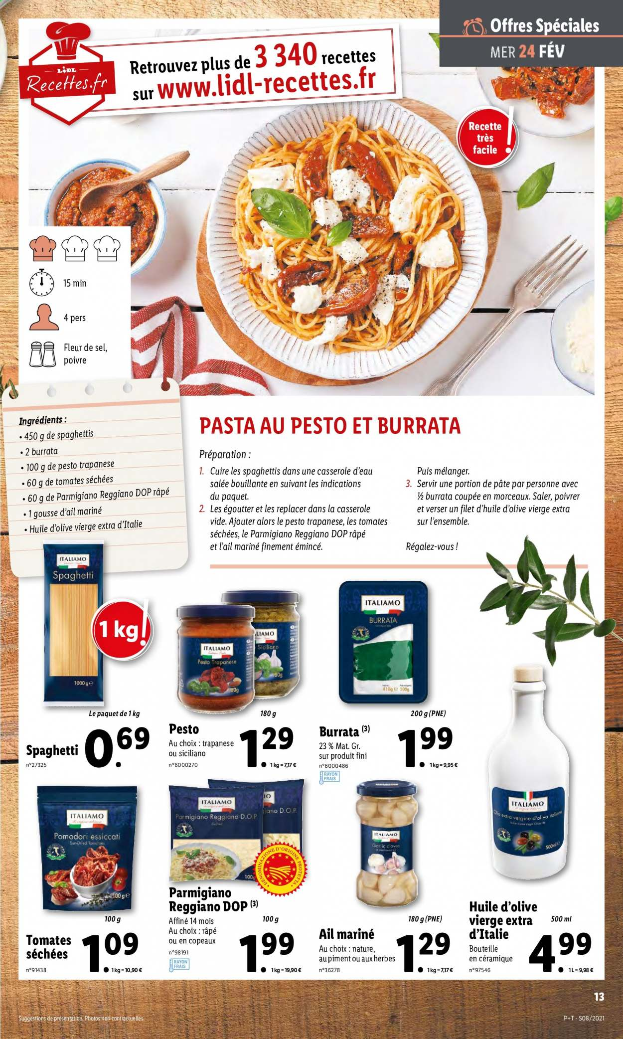 Catalogue Lidl - 24.02.2021 - 02.03.2021. Page 13.