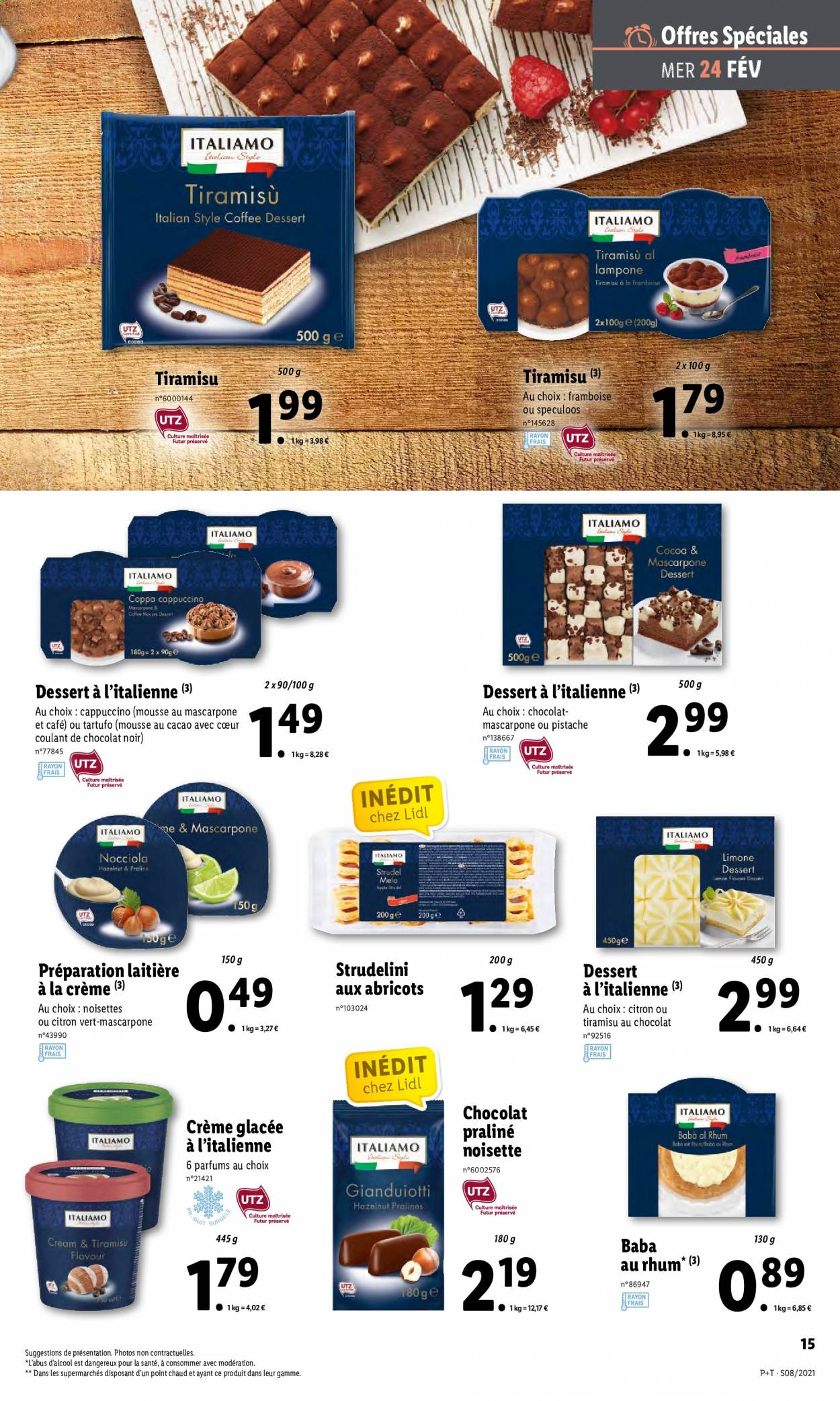 Catalogue Lidl - 24.02.2021 - 02.03.2021. Page 15.
