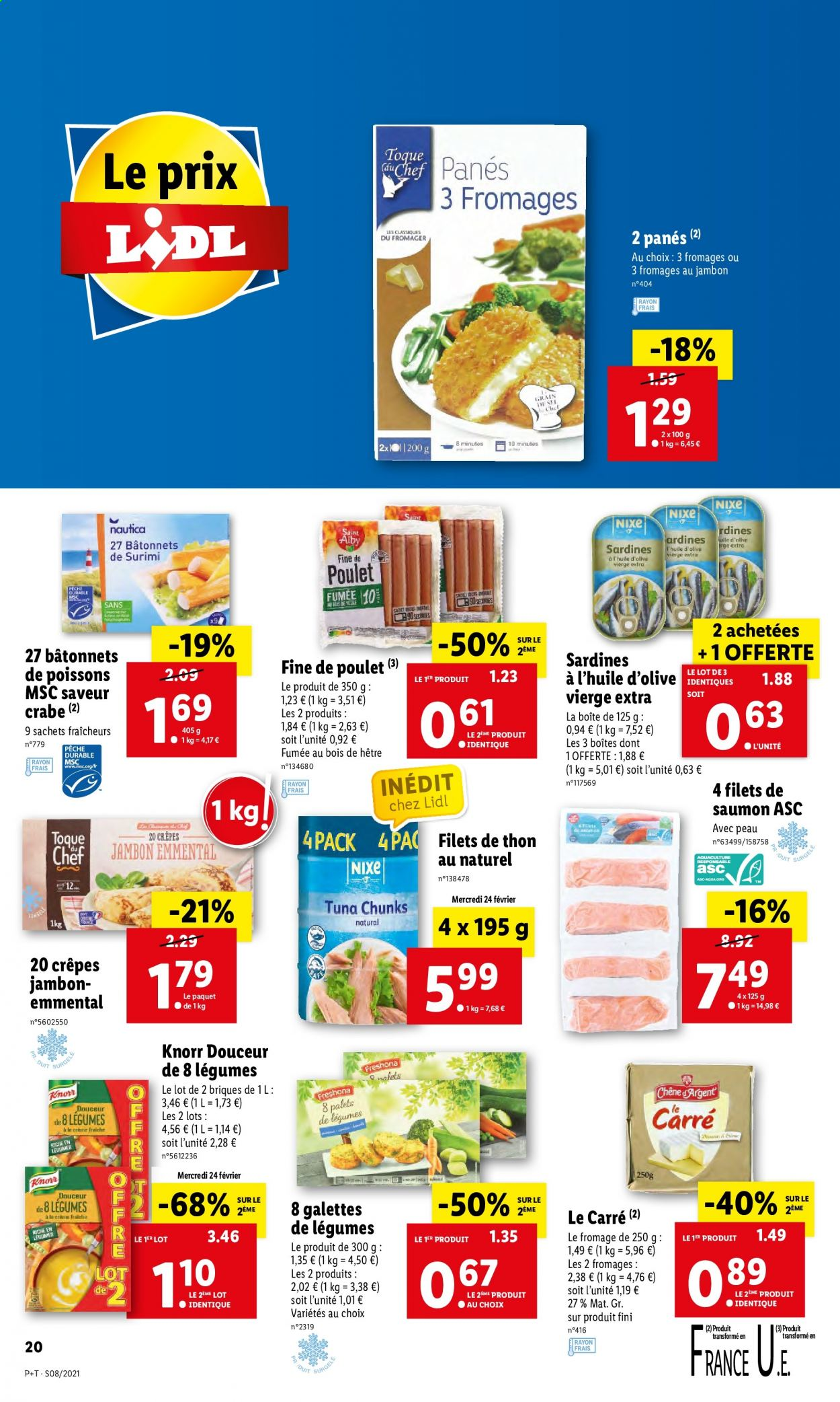 Catalogue Lidl - 24.02.2021 - 02.03.2021. Page 20.