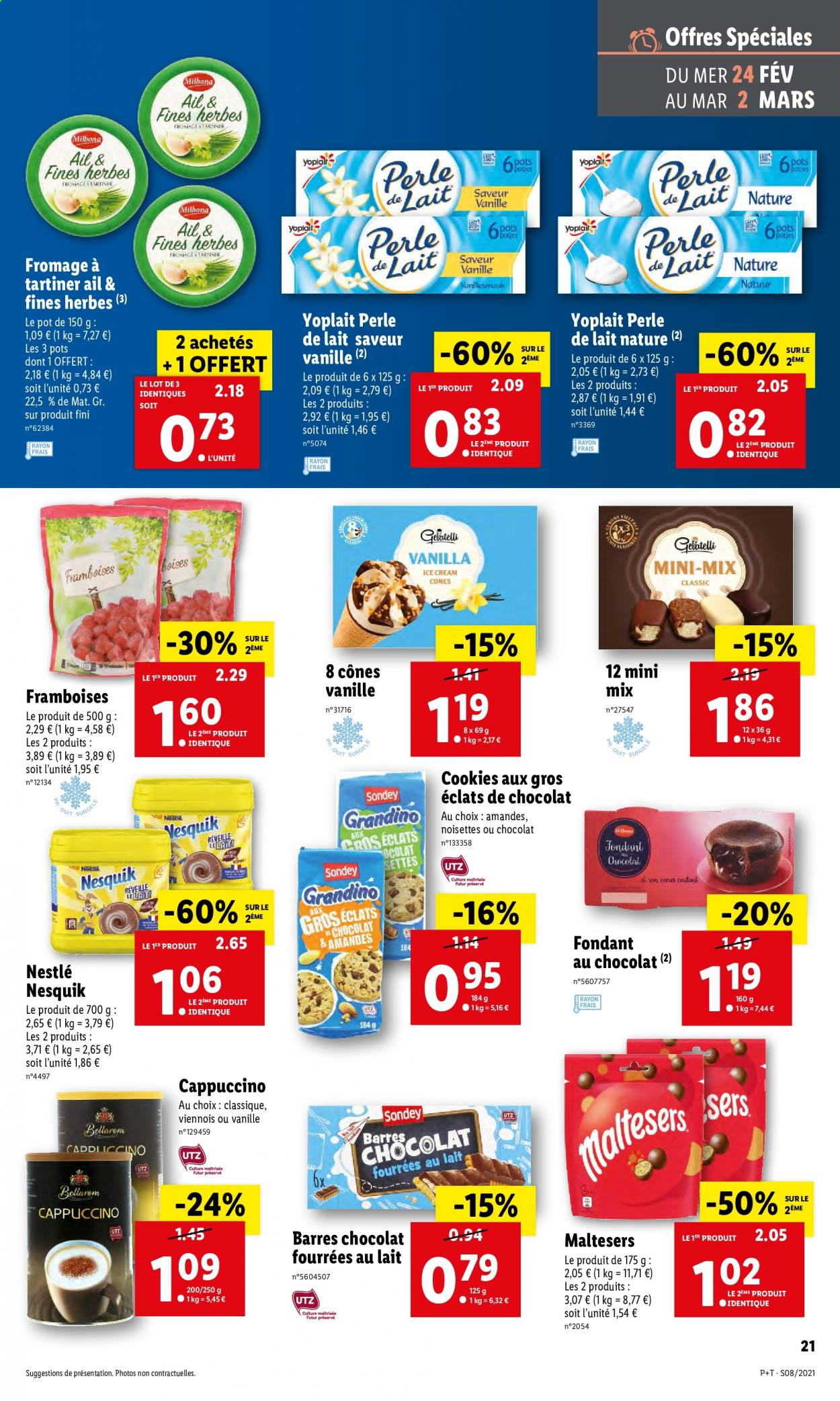 Catalogue Lidl - 24.02.2021 - 02.03.2021. Page 21.