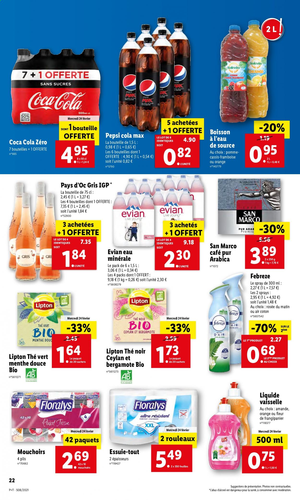 Catalogue Lidl - 24.02.2021 - 02.03.2021. Page 22.