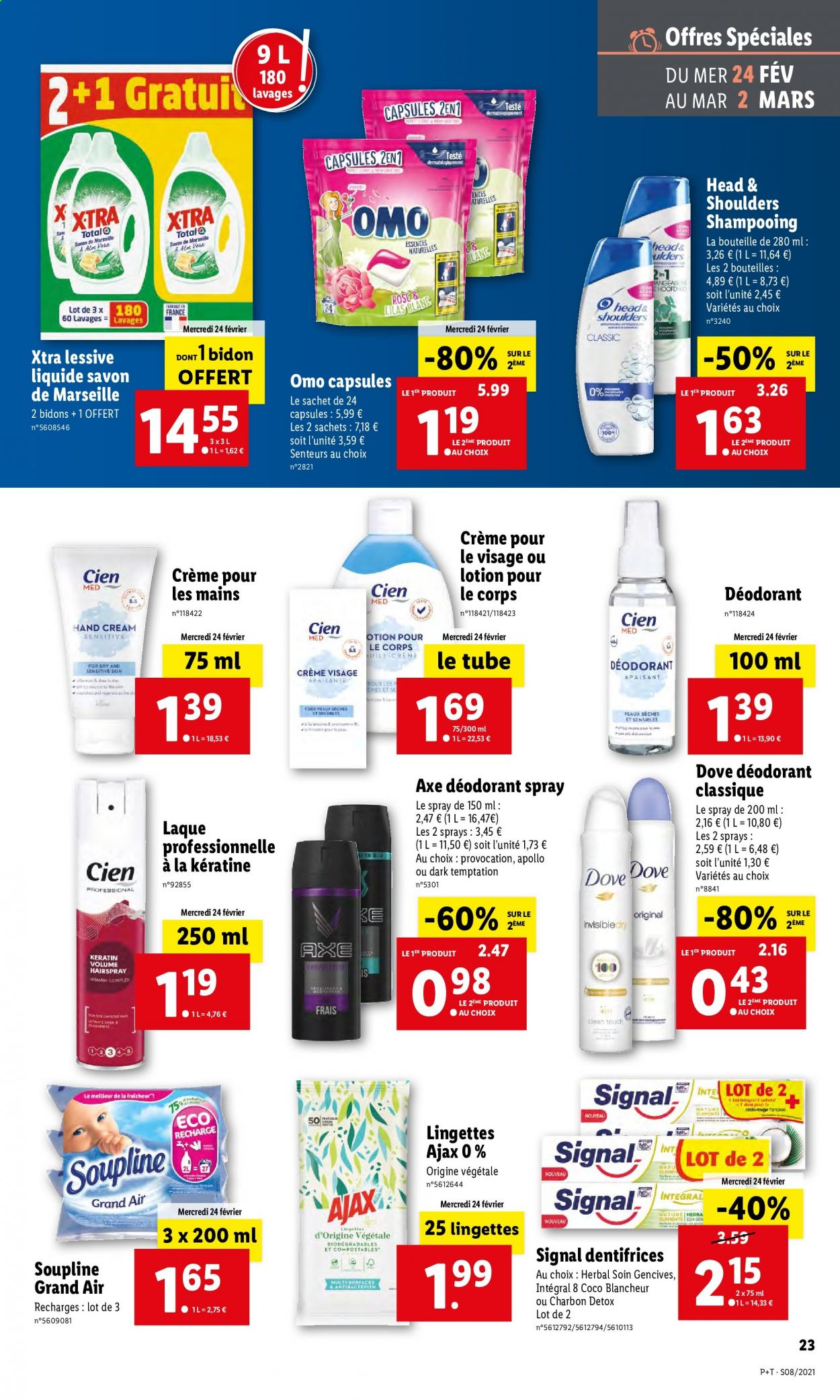 Catalogue Lidl - 24.02.2021 - 02.03.2021. Page 23.
