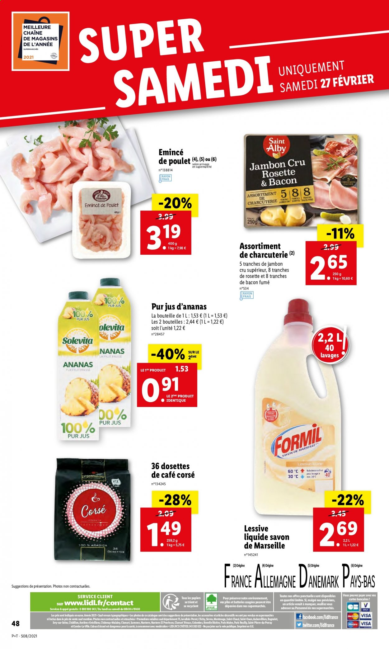Catalogue Lidl - 24.02.2021 - 02.03.2021. Page 48.