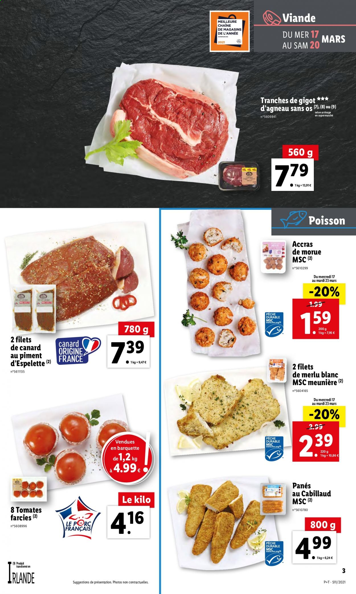 Catalogue Lidl - 17.03.2021 - 23.03.2021. Page 3.
