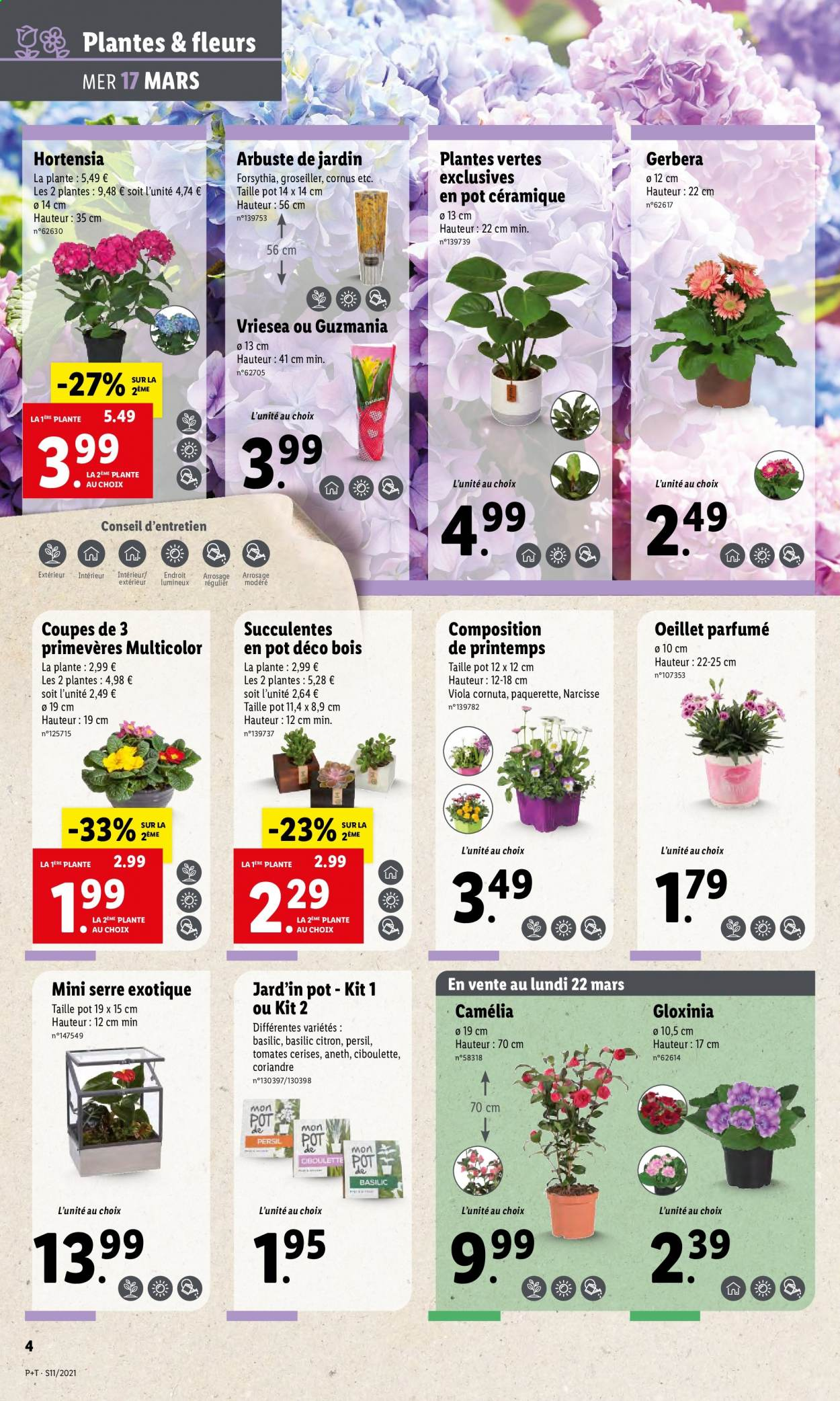 Catalogue Lidl - 17.03.2021 - 23.03.2021. Page 4.