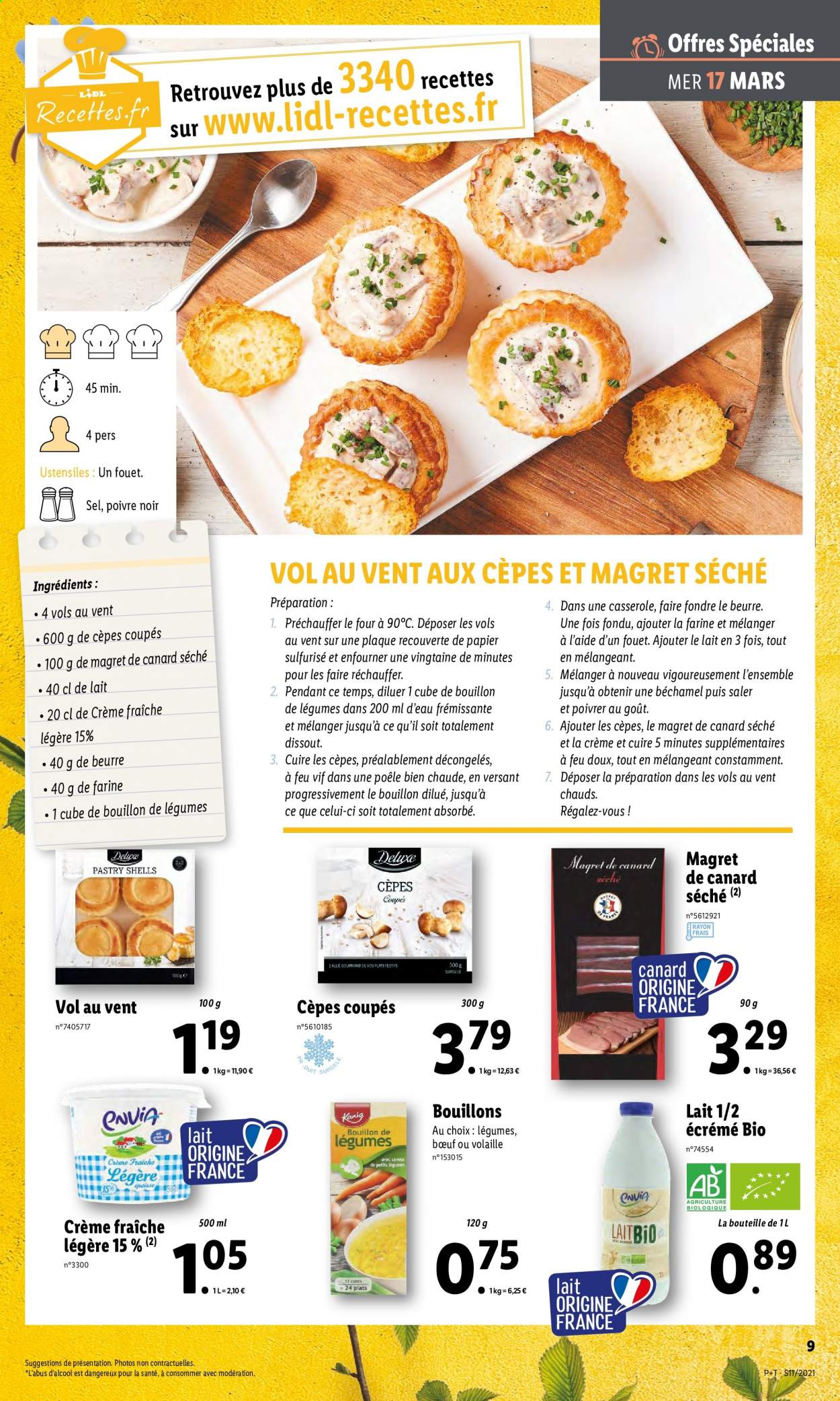 Catalogue Lidl - 17.03.2021 - 23.03.2021. Page 9.