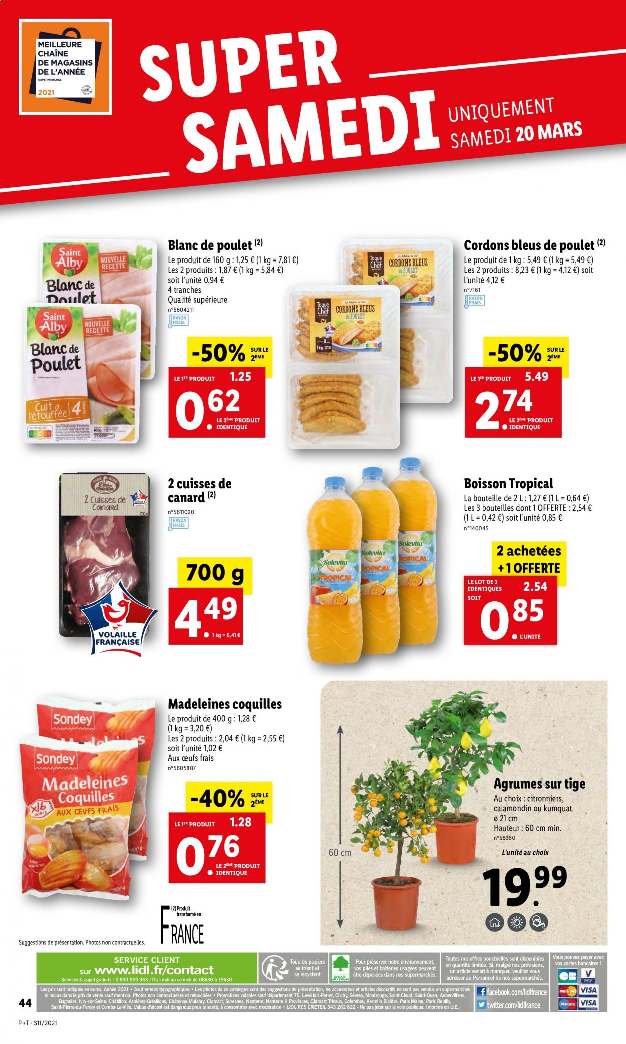 Catalogue Lidl - 17.03.2021 - 23.03.2021. Page 46.
