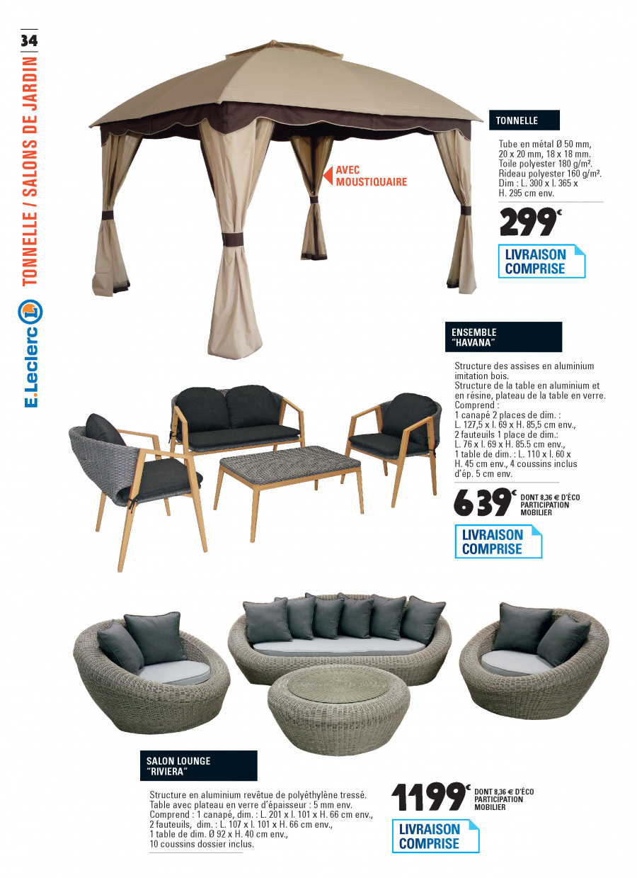 Catalogue E.Leclerc - 06.02.2018 - 31.12.2018. Page 34.