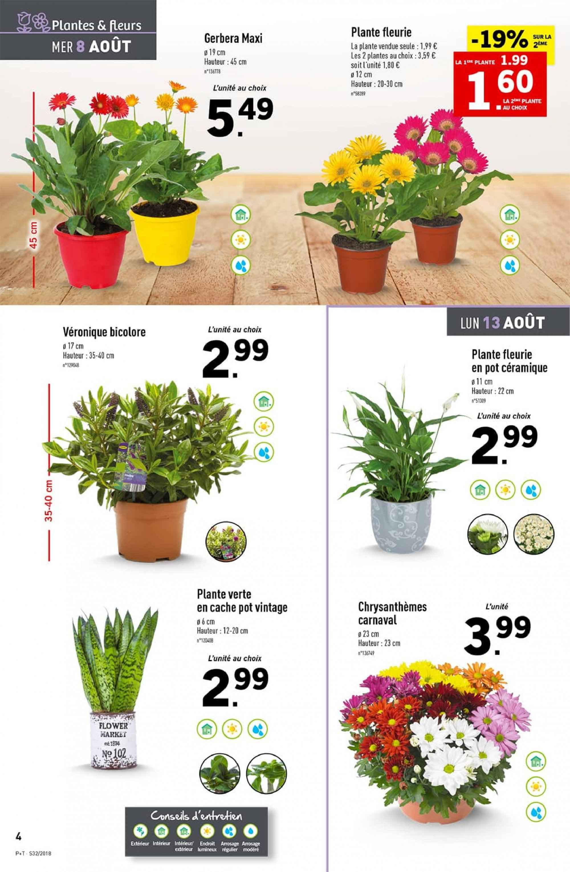 Catalogue Lidl - 08.08.2018 - 14.08.2018. Page 4.