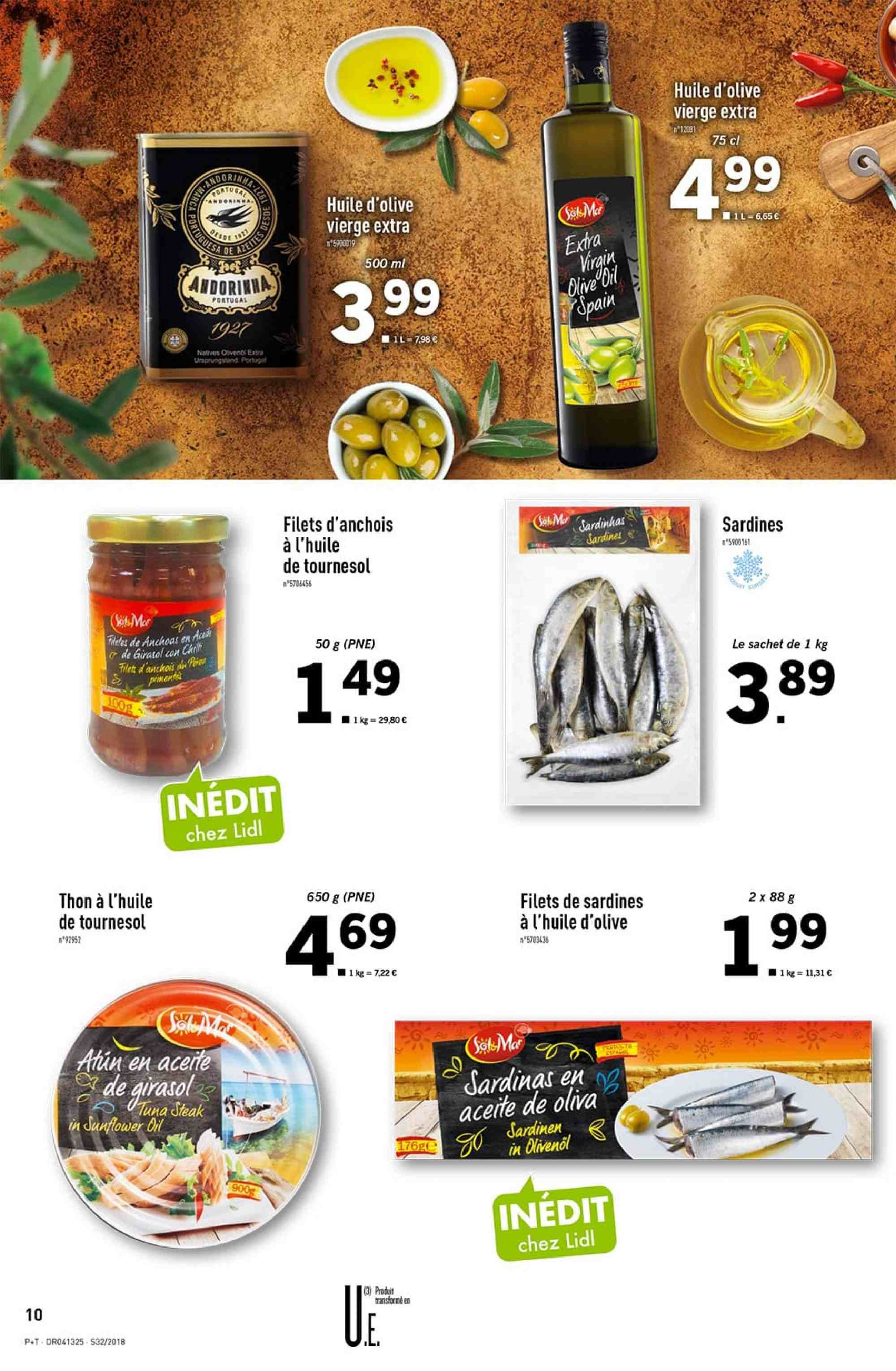 Catalogue Lidl - 08.08.2018 - 14.08.2018. Page 10.