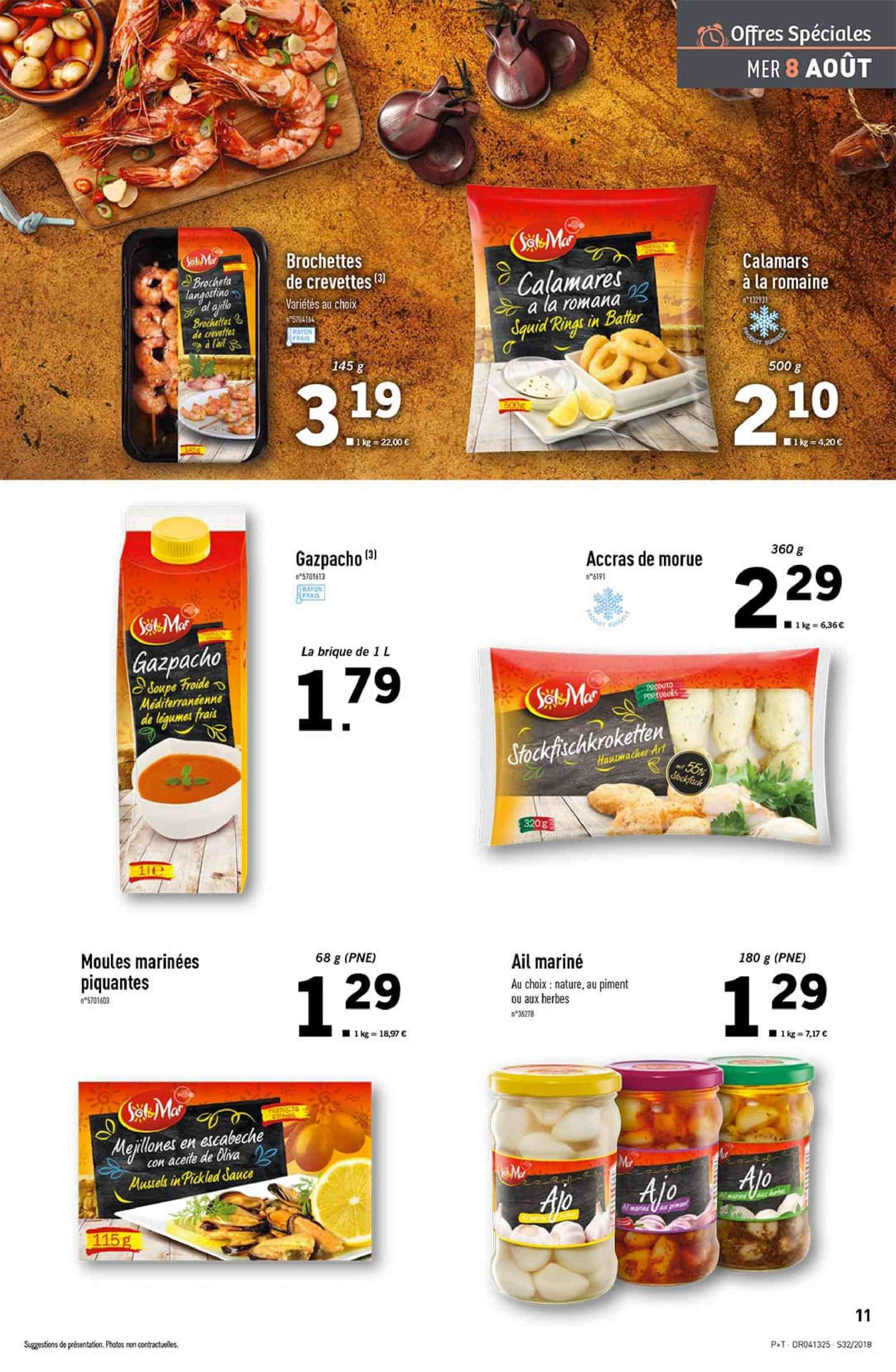 Catalogue Lidl - 08.08.2018 - 14.08.2018. Page 11.