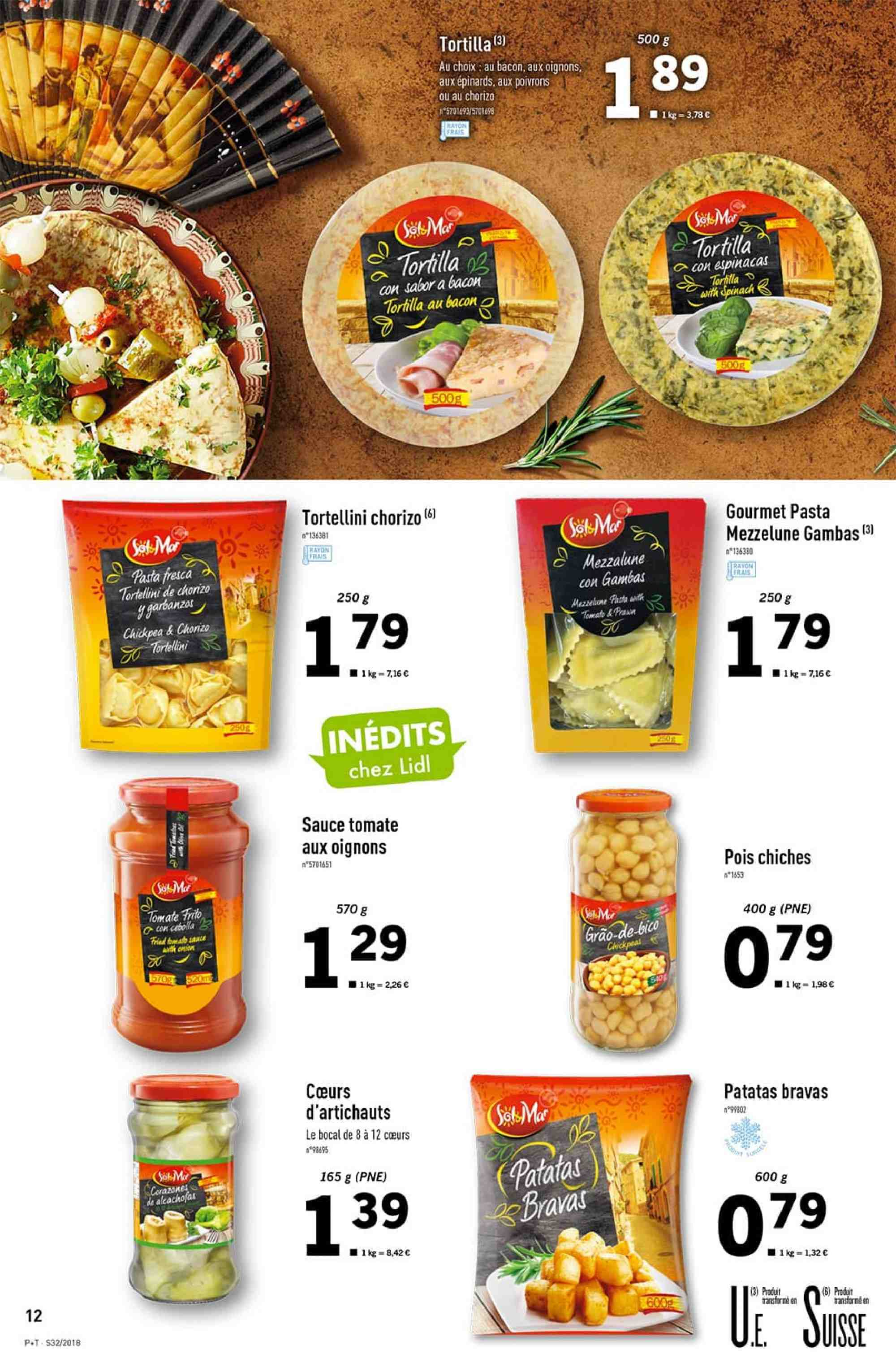 Catalogue Lidl - 08.08.2018 - 14.08.2018. Page 12.