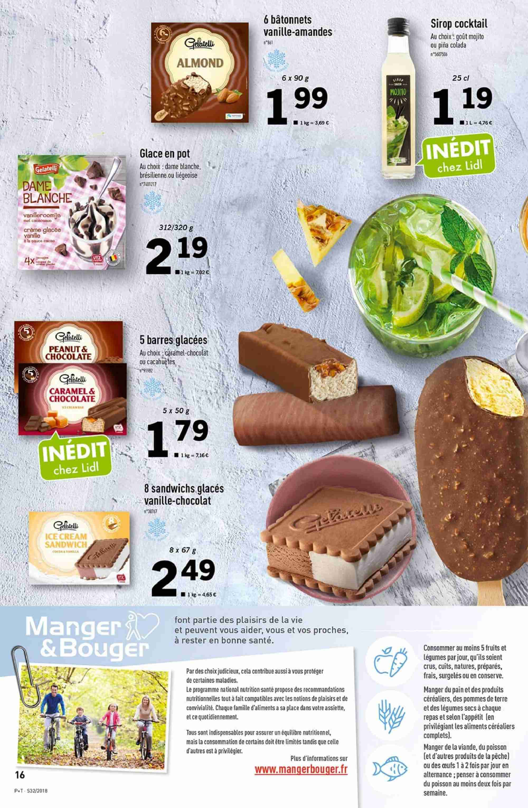 Catalogue Lidl - 08.08.2018 - 14.08.2018. Page 16.
