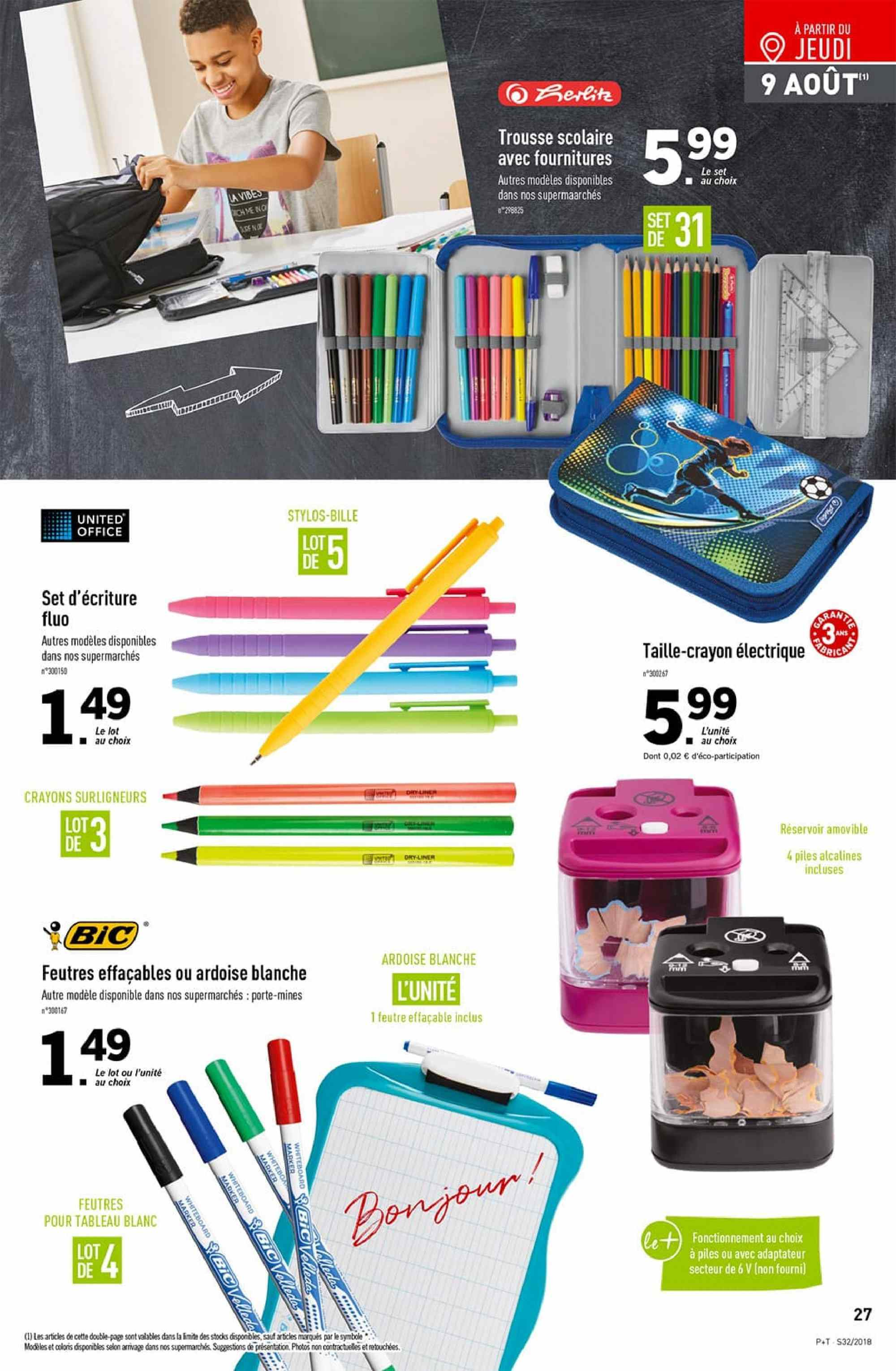 Catalogue Lidl - 08.08.2018 - 14.08.2018. Page 27.