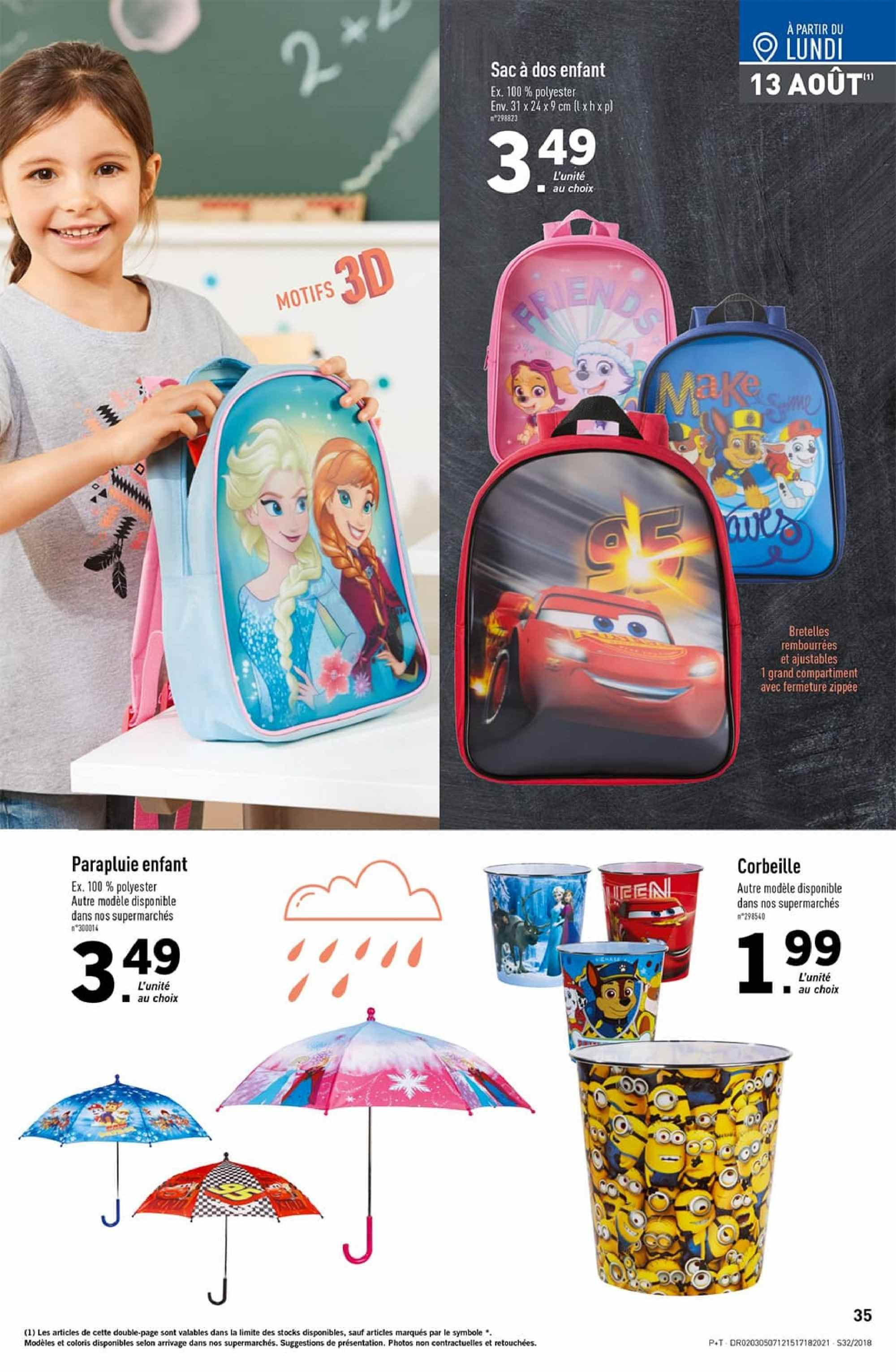 Catalogue Lidl - 08.08.2018 - 14.08.2018. Page 35.