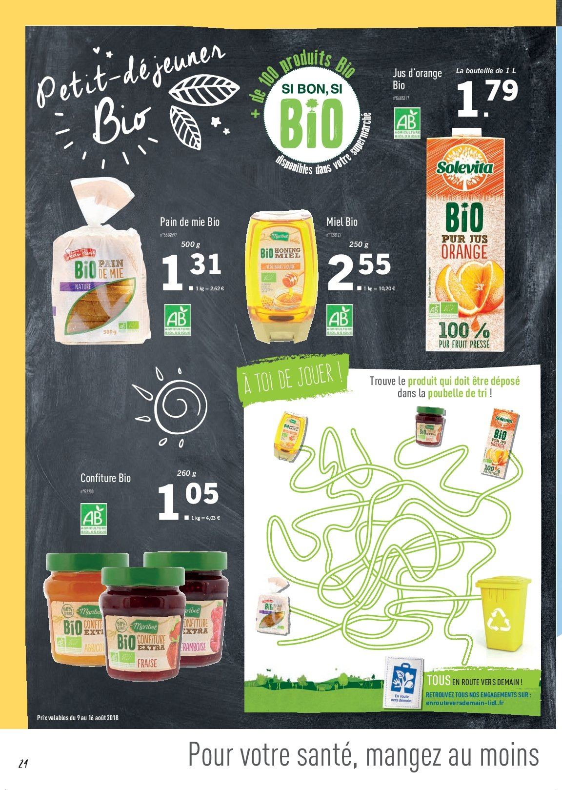 Catalogue Lidl - 09.08.2018 - 16.08.2018. Page 24.