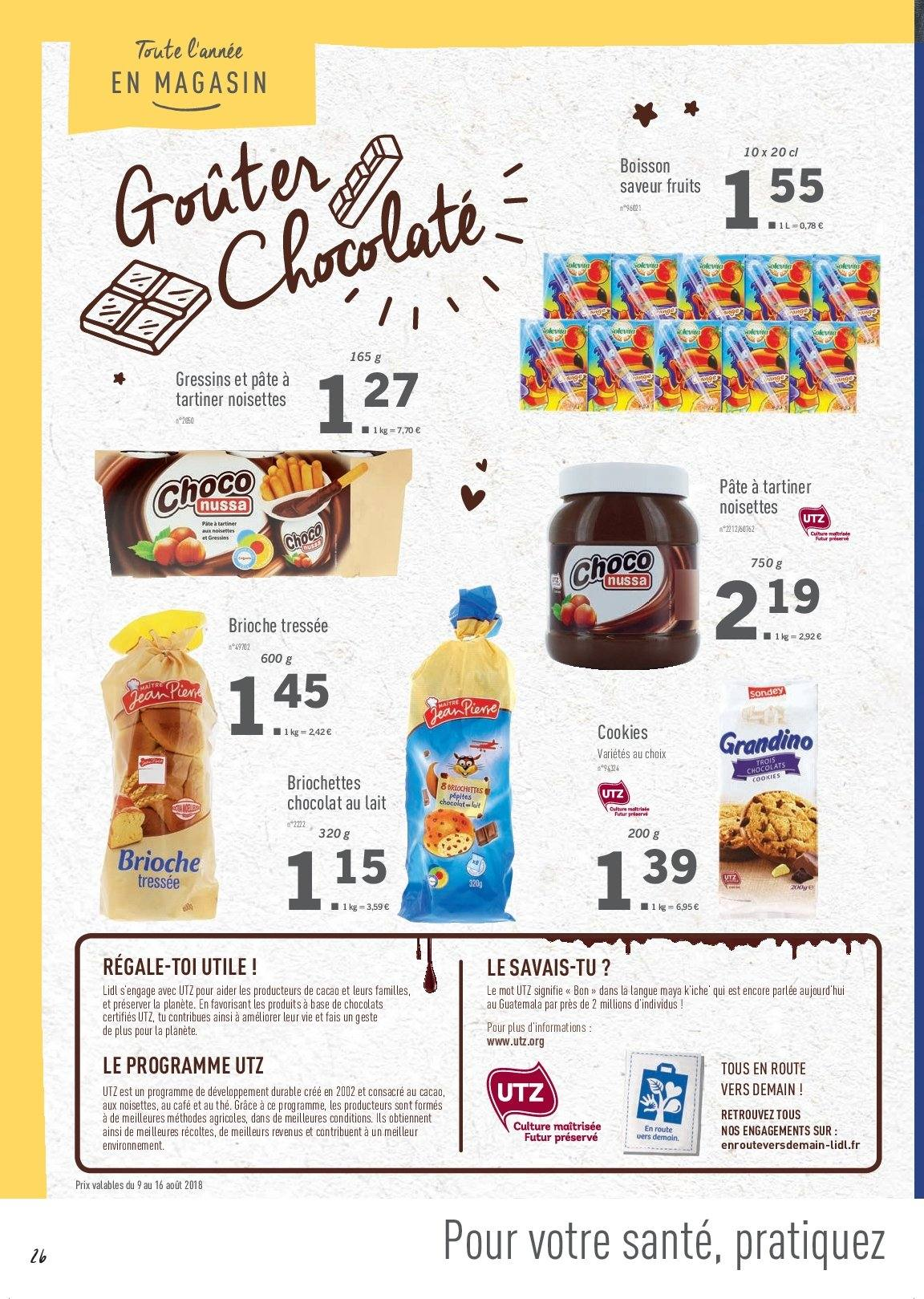 Catalogue Lidl - 09.08.2018 - 16.08.2018. Page 26.