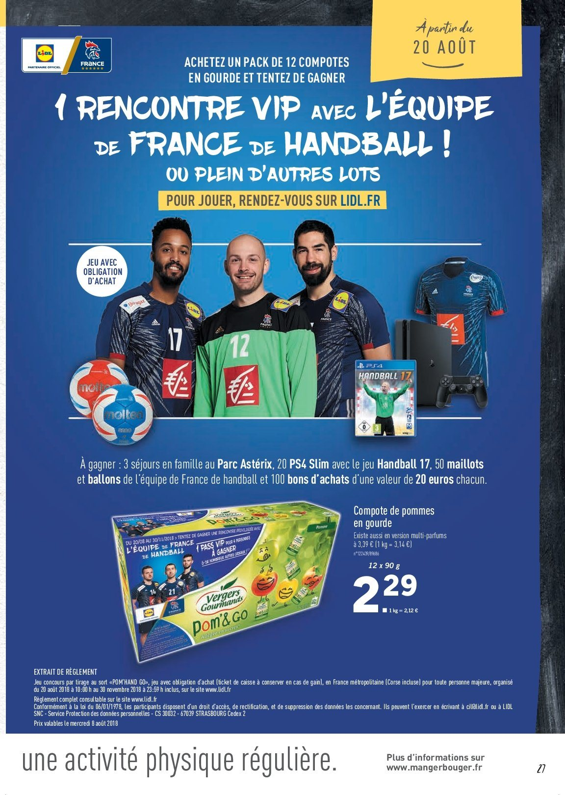 Catalogue Lidl - 09.08.2018 - 16.08.2018. Page 27.