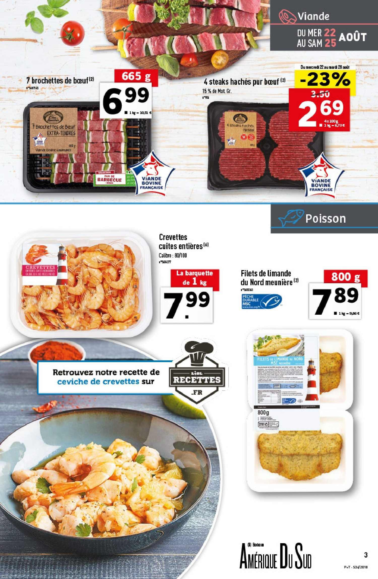Catalogue Lidl - 22.08.2018 - 28.08.2018. Page 3.