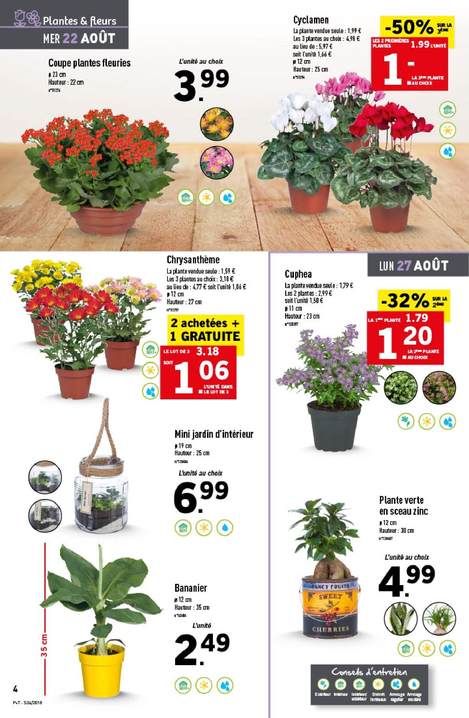Catalogue Lidl - 22.08.2018 - 28.08.2018. Page 4.