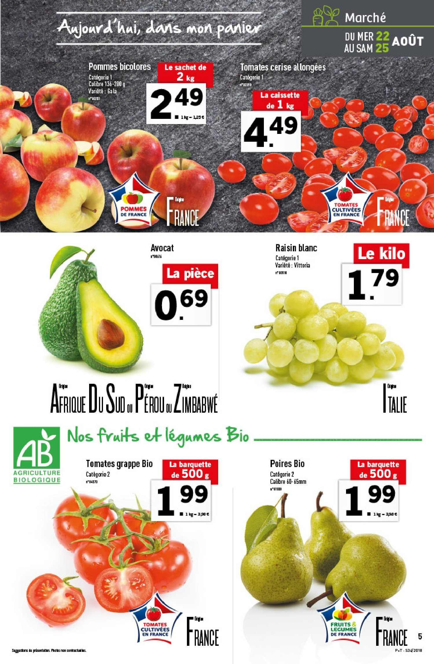 Catalogue Lidl - 22.08.2018 - 28.08.2018. Page 5.