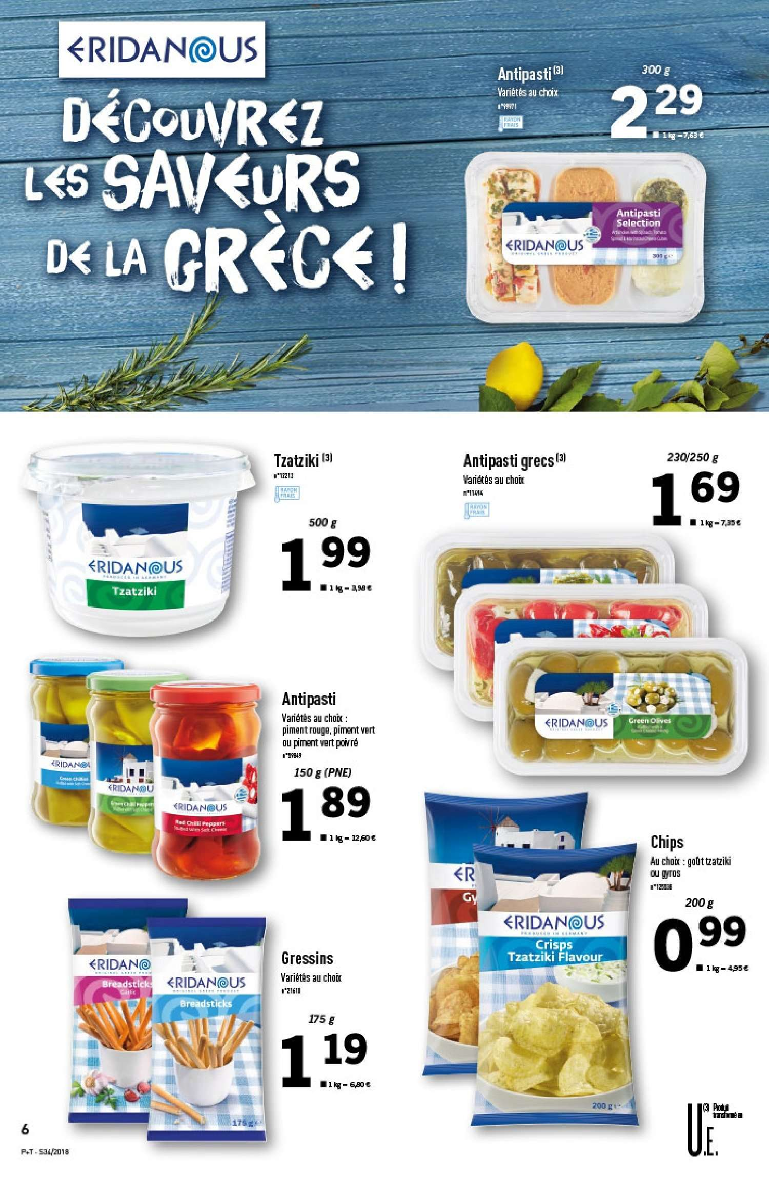 Catalogue Lidl - 22.08.2018 - 28.08.2018. Page 6.