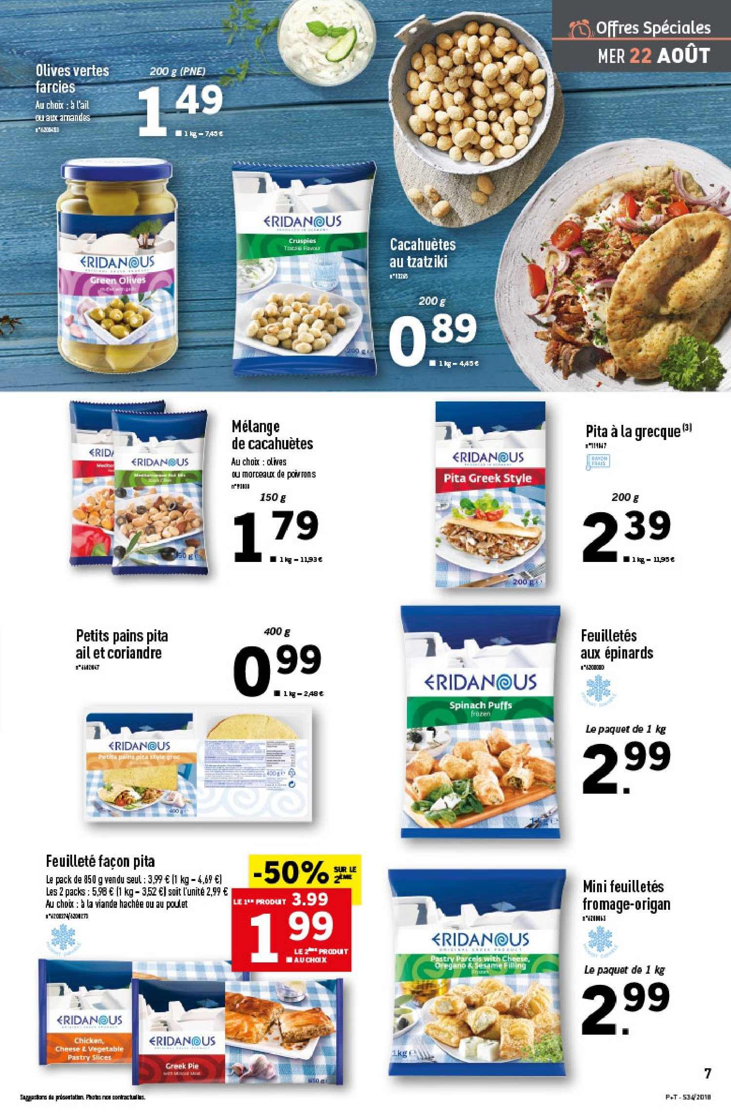 Catalogue Lidl - 22.08.2018 - 28.08.2018. Page 7.