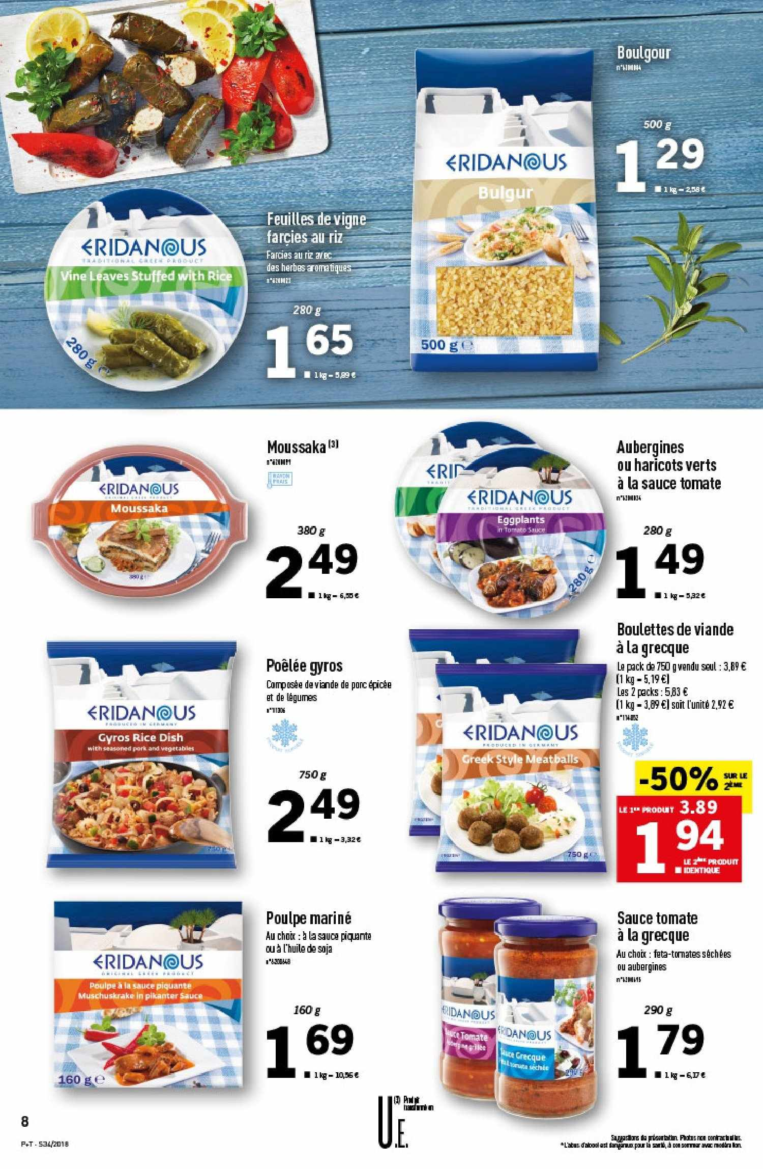 Catalogue Lidl - 22.08.2018 - 28.08.2018. Page 8.