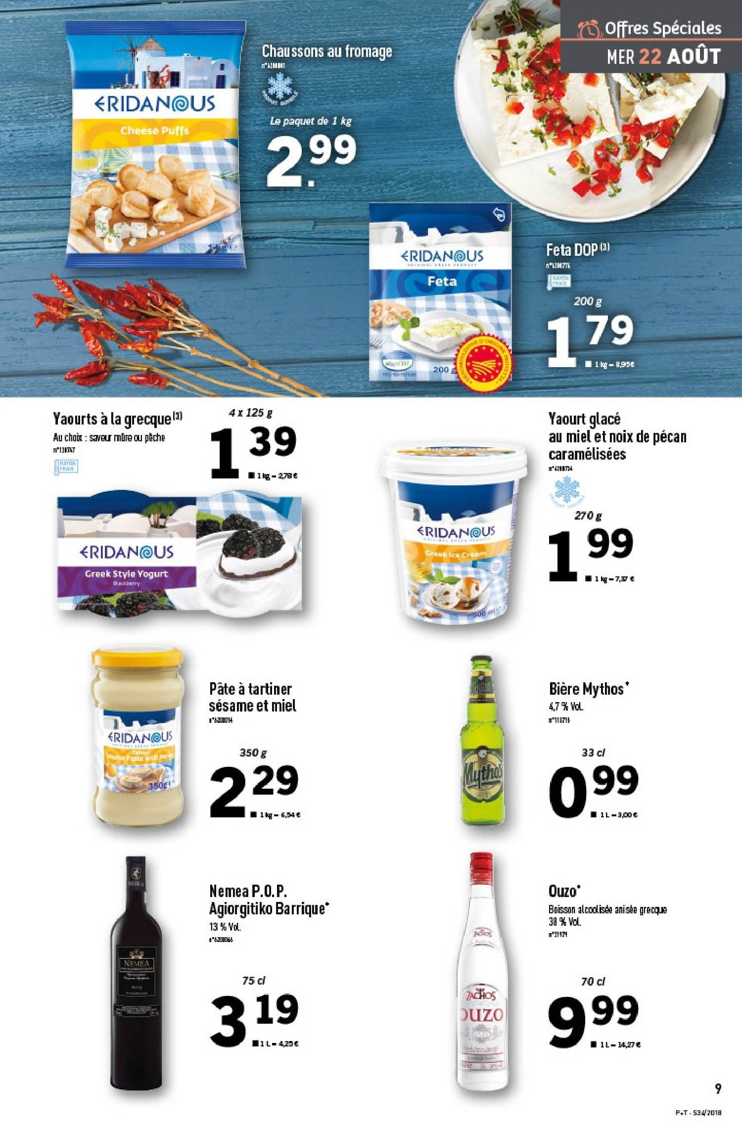 Catalogue Lidl - 22.08.2018 - 28.08.2018. Page 9.