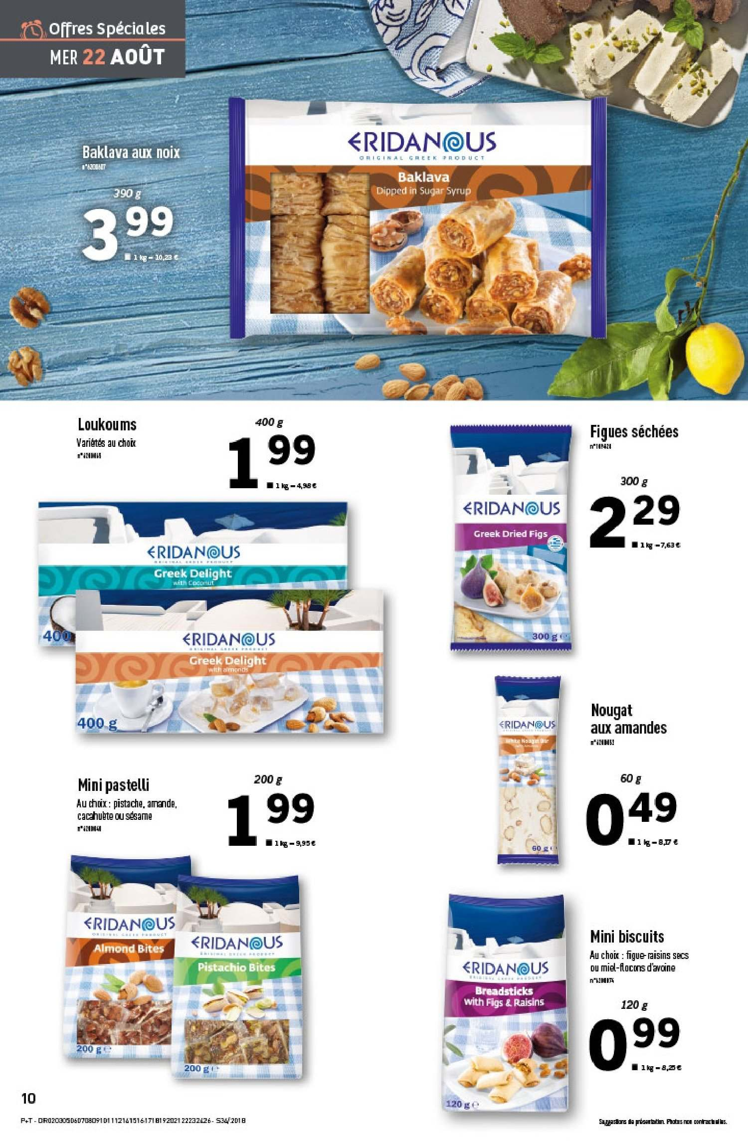 Catalogue Lidl - 22.08.2018 - 28.08.2018. Page 10.