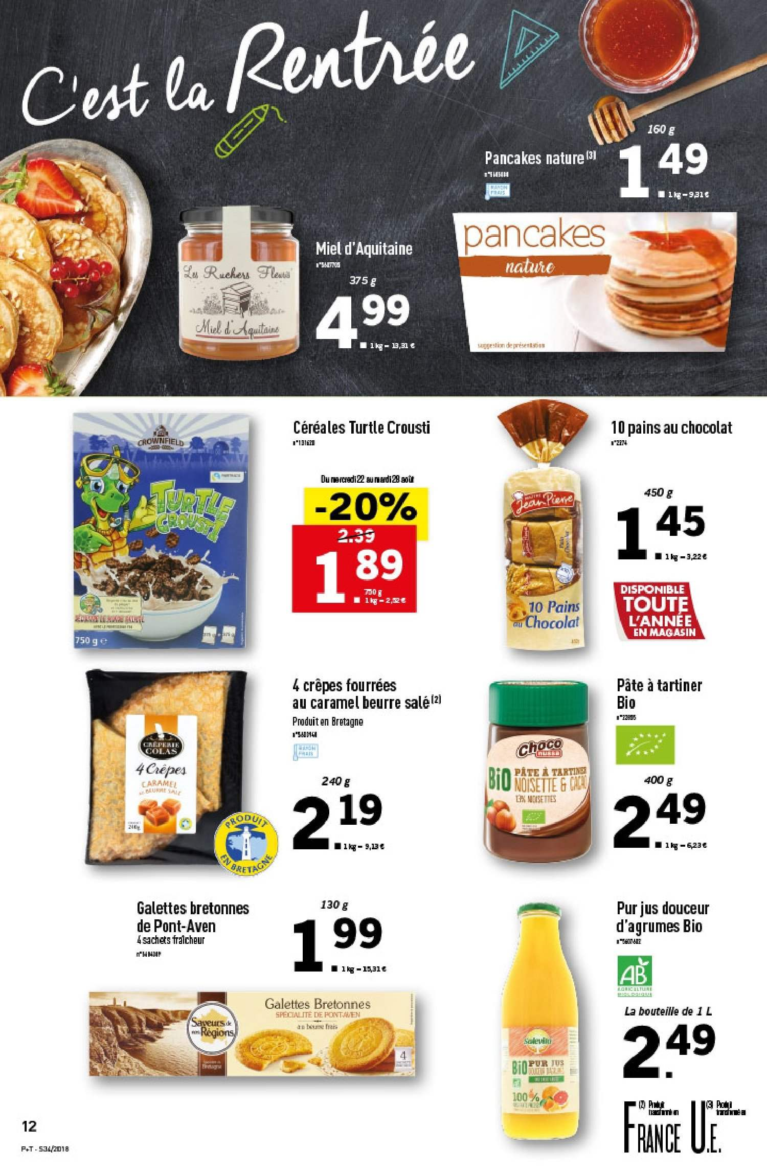 Catalogue Lidl - 22.08.2018 - 28.08.2018. Page 12.