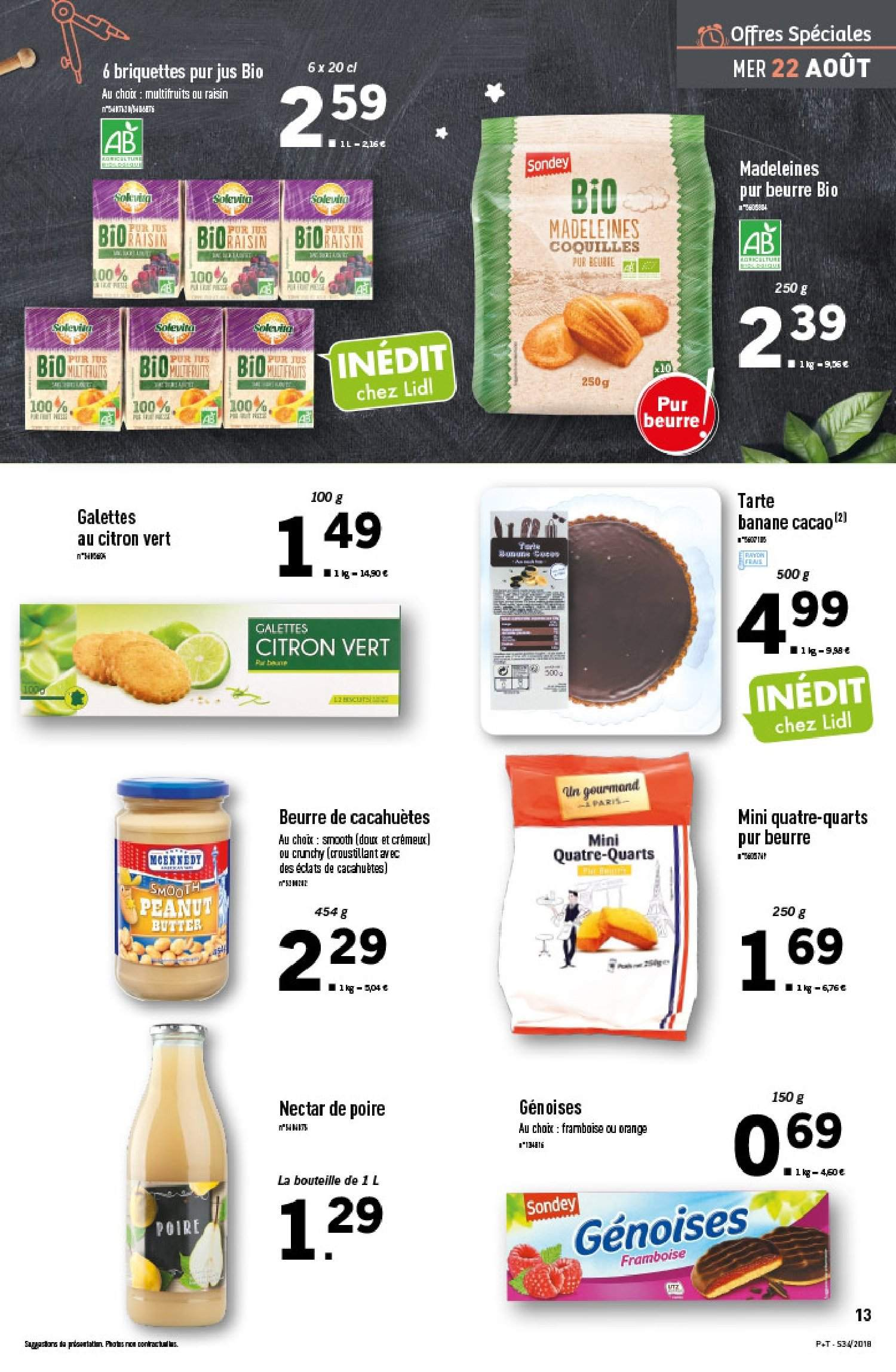 Catalogue Lidl - 22.08.2018 - 28.08.2018. Page 13.