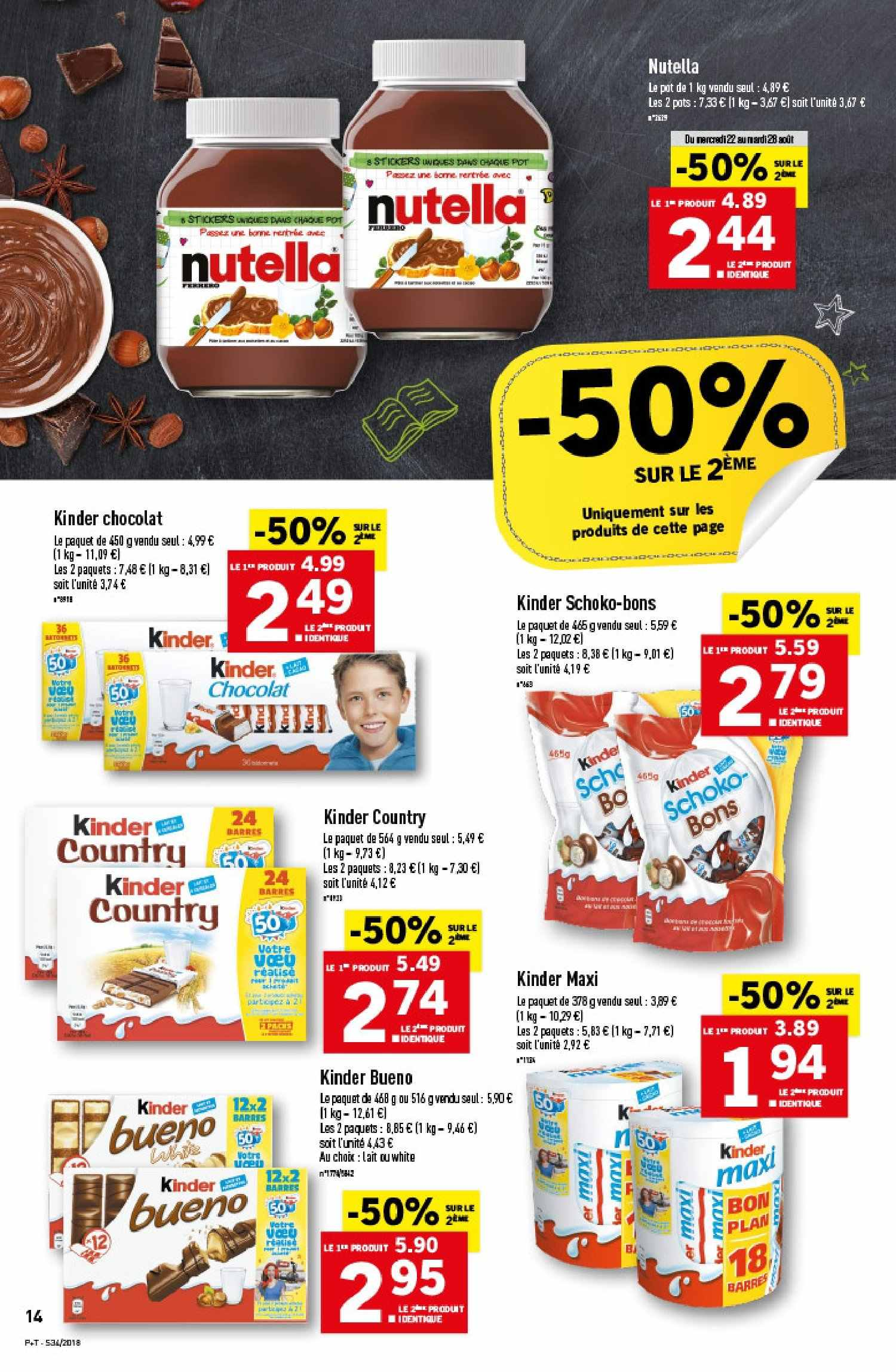 Catalogue Lidl - 22.08.2018 - 28.08.2018. Page 14.
