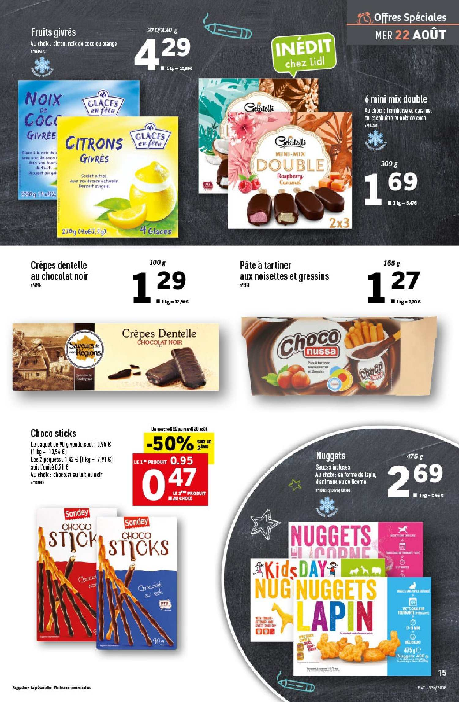 Catalogue Lidl - 22.08.2018 - 28.08.2018. Page 15.