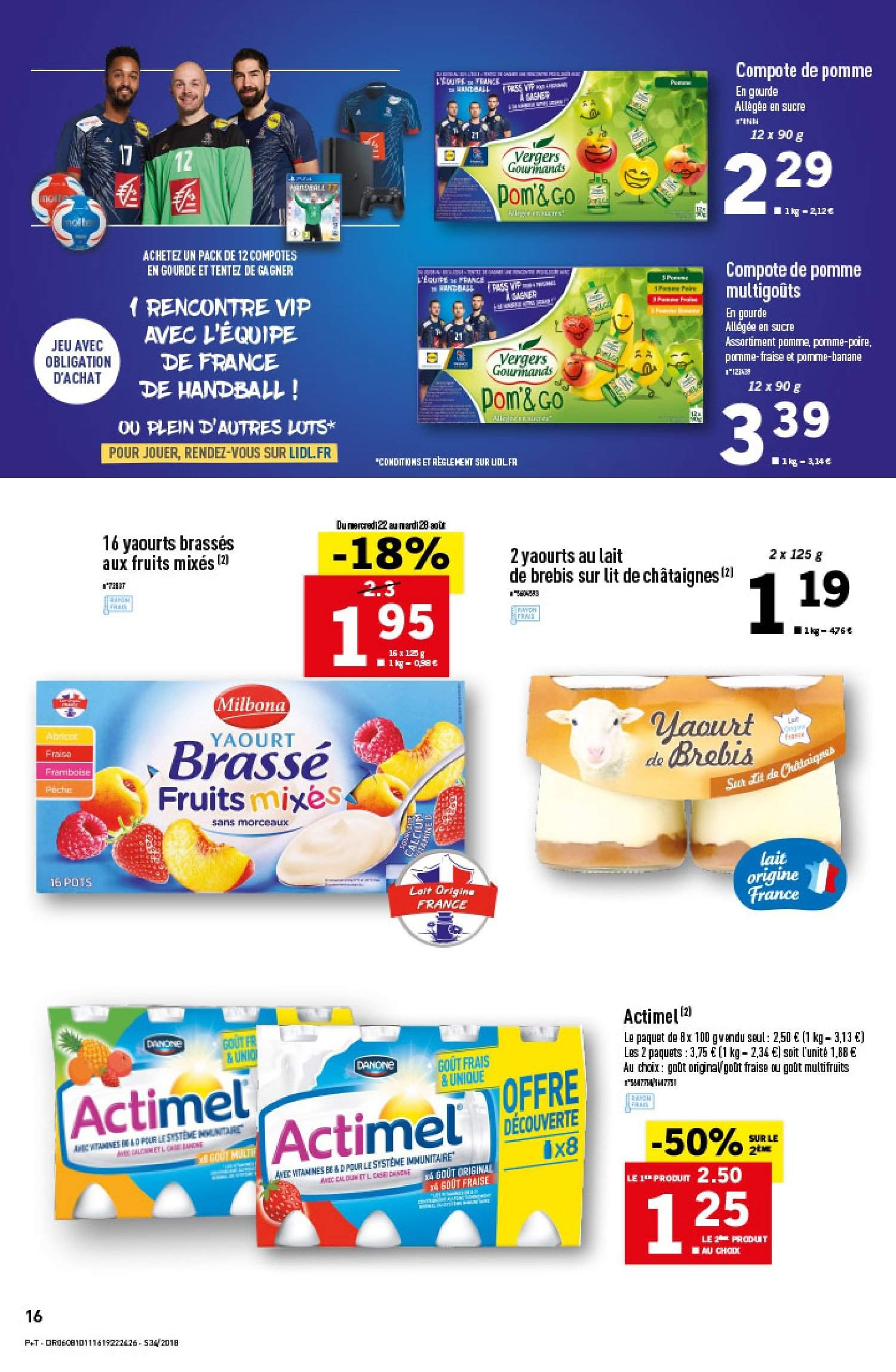 Catalogue Lidl - 22.08.2018 - 28.08.2018. Page 16.
