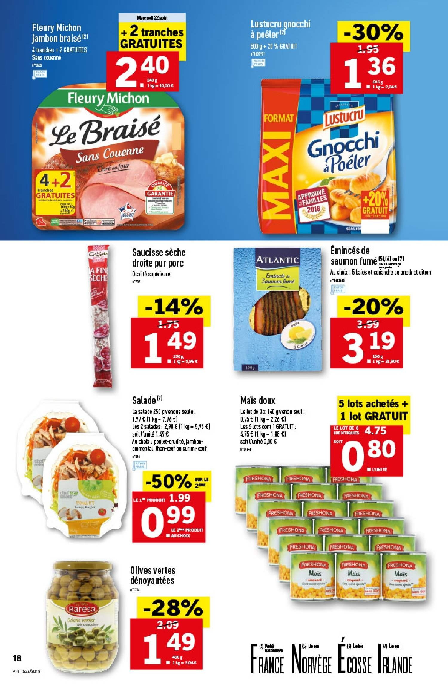 Catalogue Lidl - 22.08.2018 - 28.08.2018. Page 18.