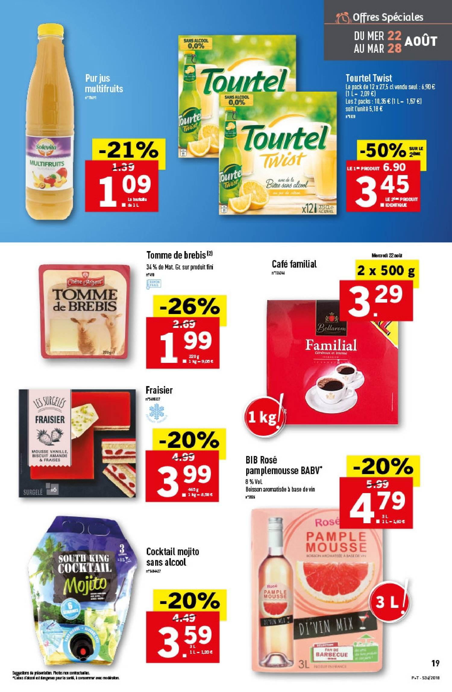 Catalogue Lidl - 22.08.2018 - 28.08.2018. Page 19.