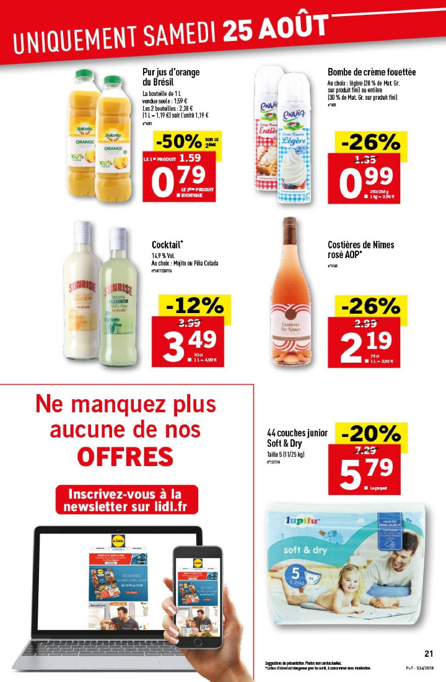Catalogue Lidl - 22.08.2018 - 28.08.2018. Page 21.