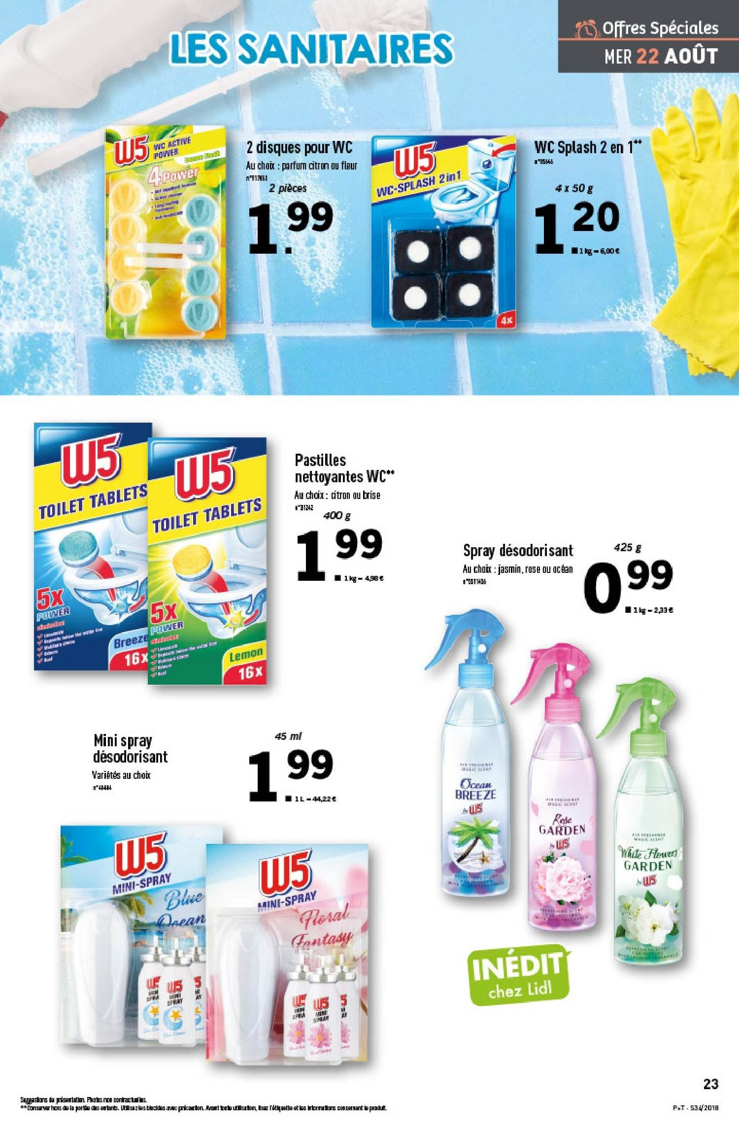 Catalogue Lidl - 22.08.2018 - 28.08.2018. Page 23.