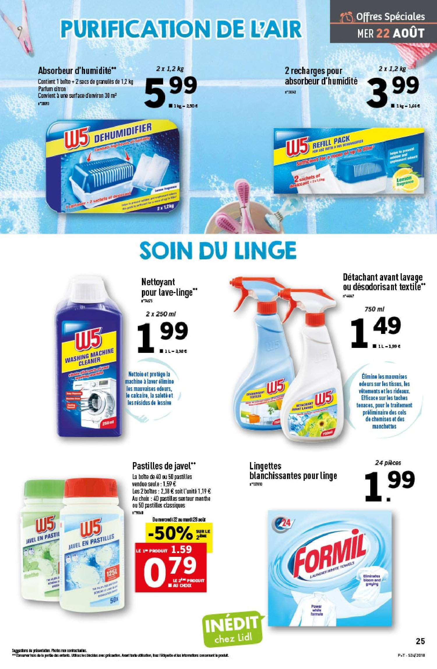 Catalogue Lidl - 22.08.2018 - 28.08.2018. Page 25.
