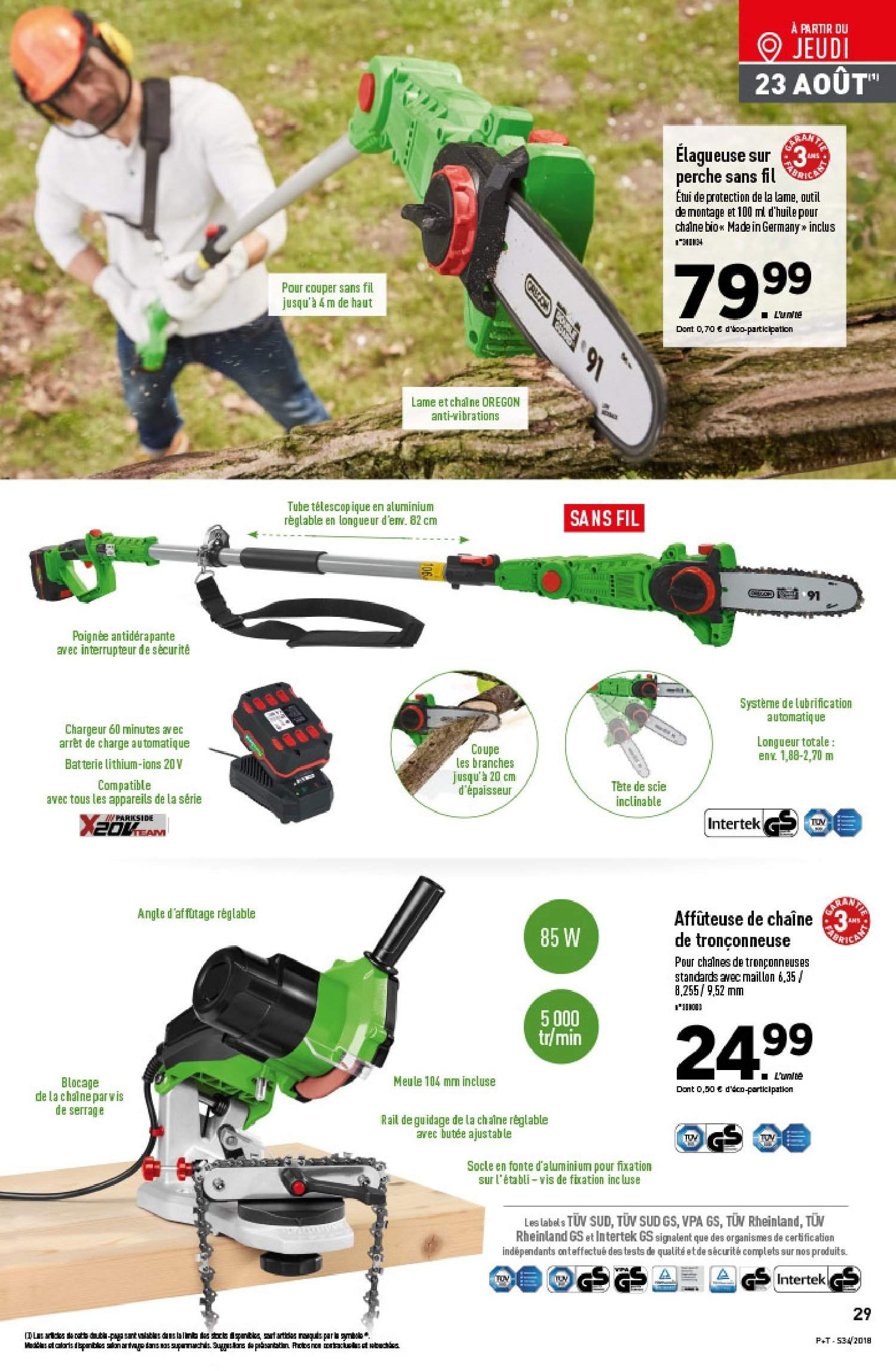 Catalogue Lidl - 22.08.2018 - 28.08.2018. Page 29.