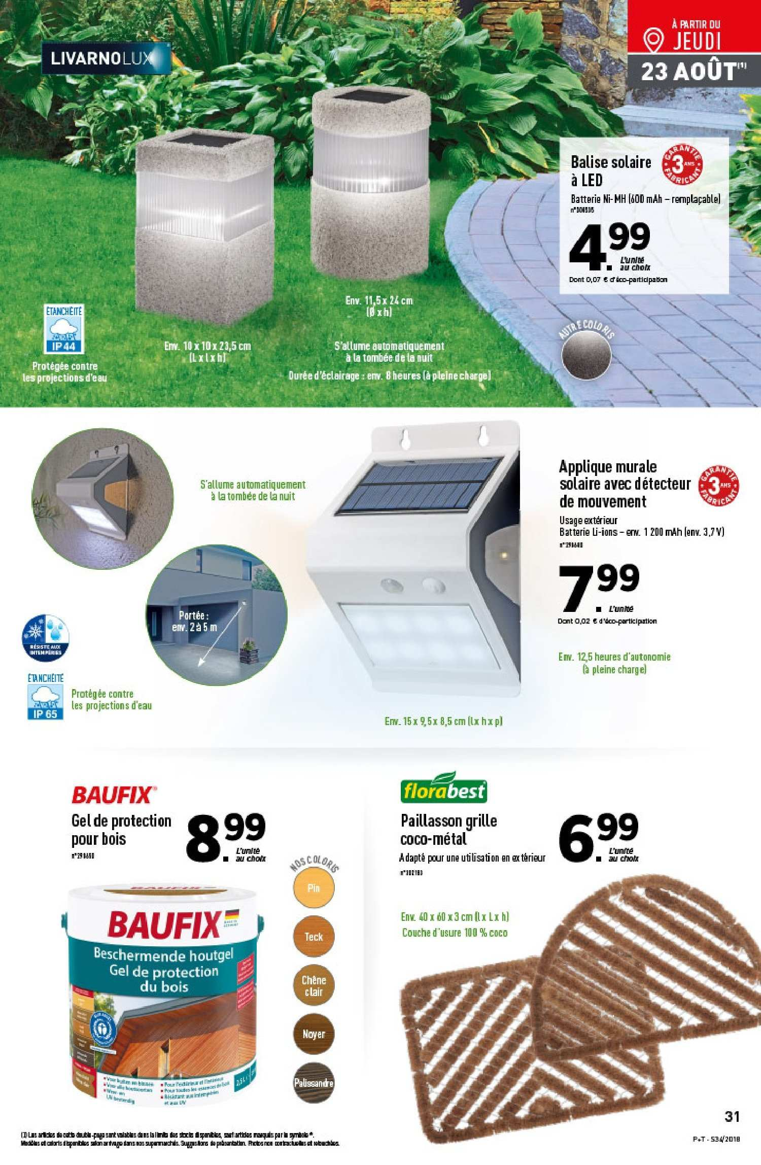 Catalogue Lidl - 22.08.2018 - 28.08.2018. Page 31.