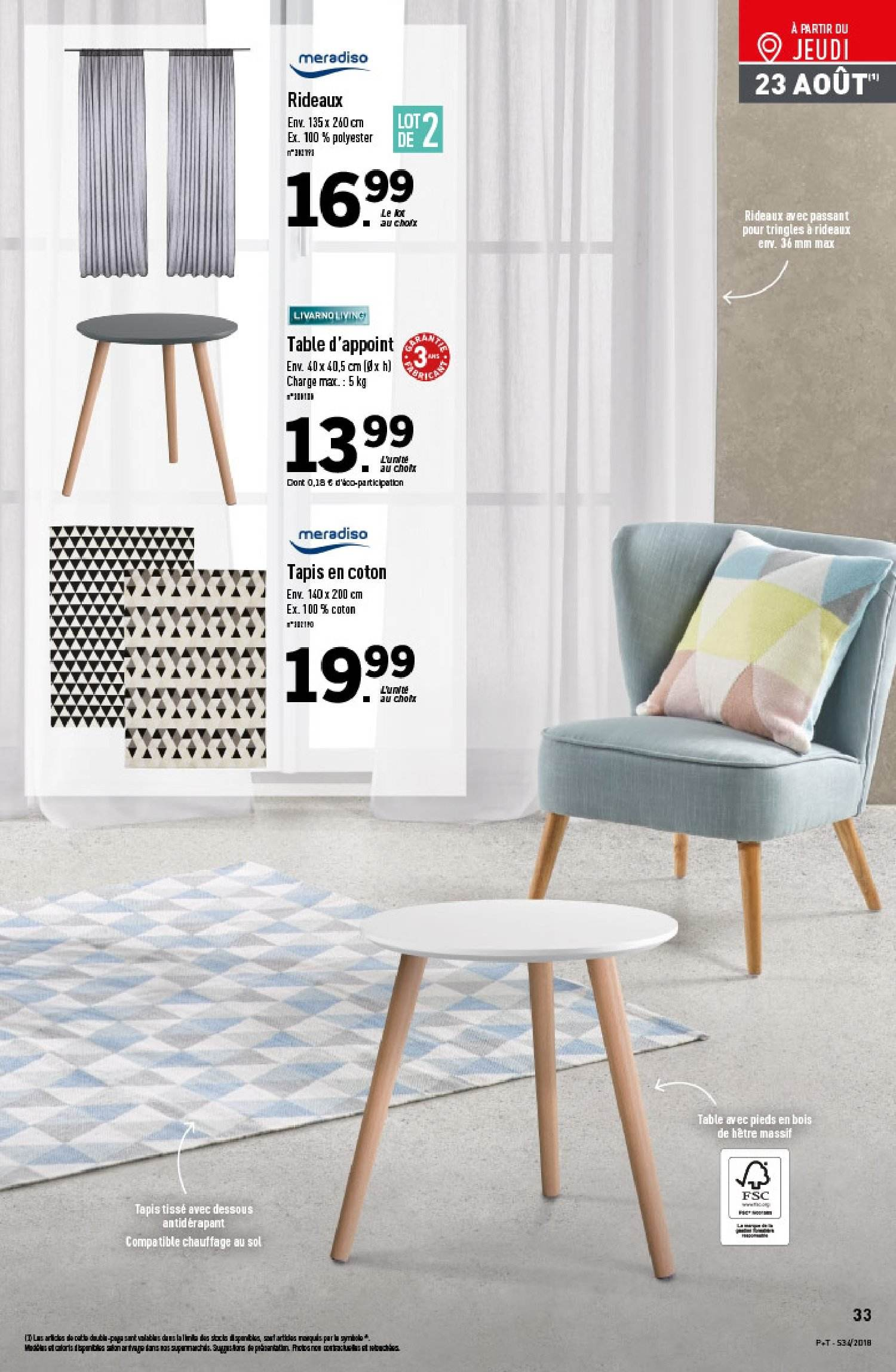 Catalogue Lidl - 22.08.2018 - 28.08.2018. Page 33.