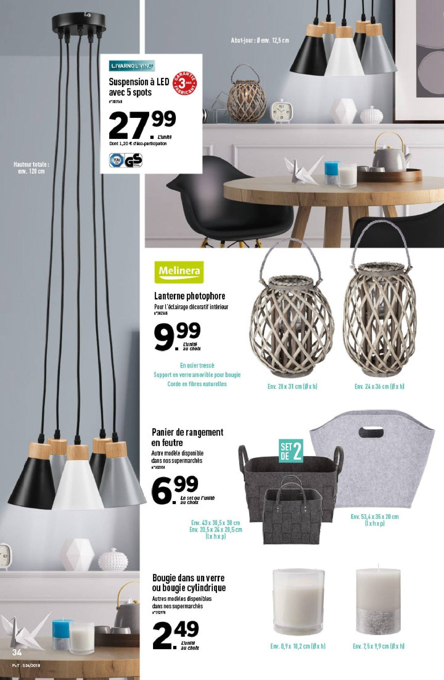 Catalogue Lidl - 22.08.2018 - 28.08.2018. Page 34.