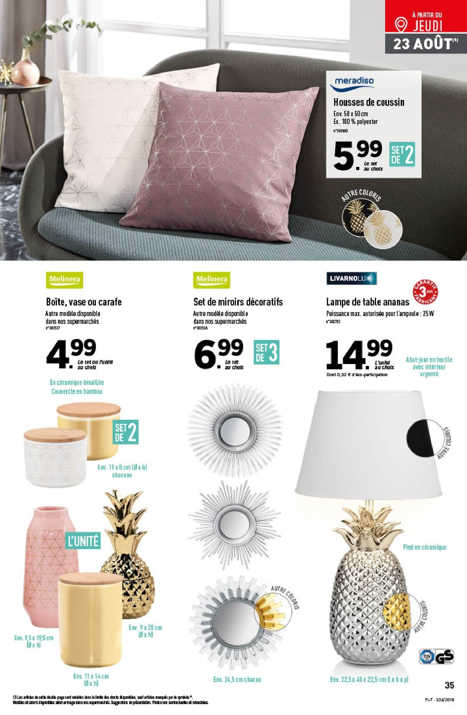 Catalogue Lidl - 22.08.2018 - 28.08.2018. Page 35.