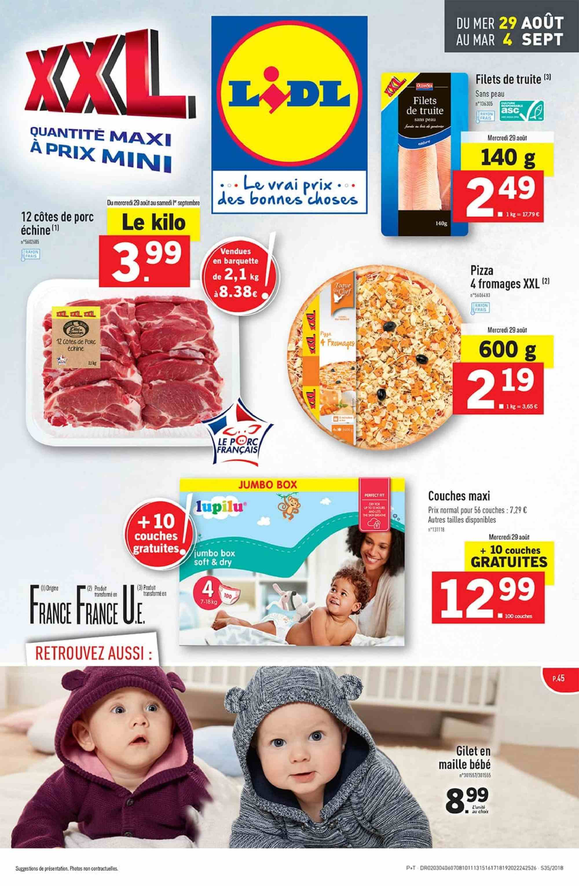 Catalogue Lidl - 29.08.2018 - 04.09.2018. Page 1.