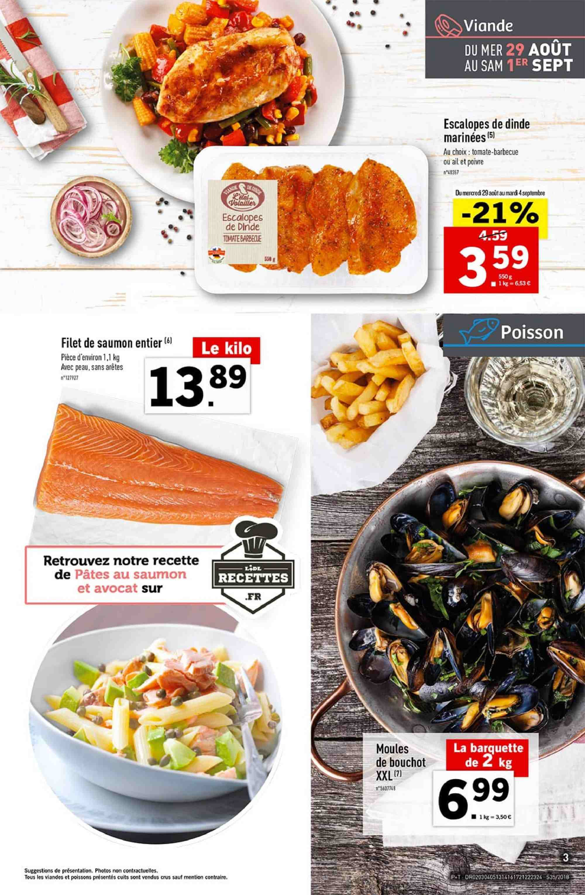 Catalogue Lidl - 29.08.2018 - 04.09.2018. Page 3.
