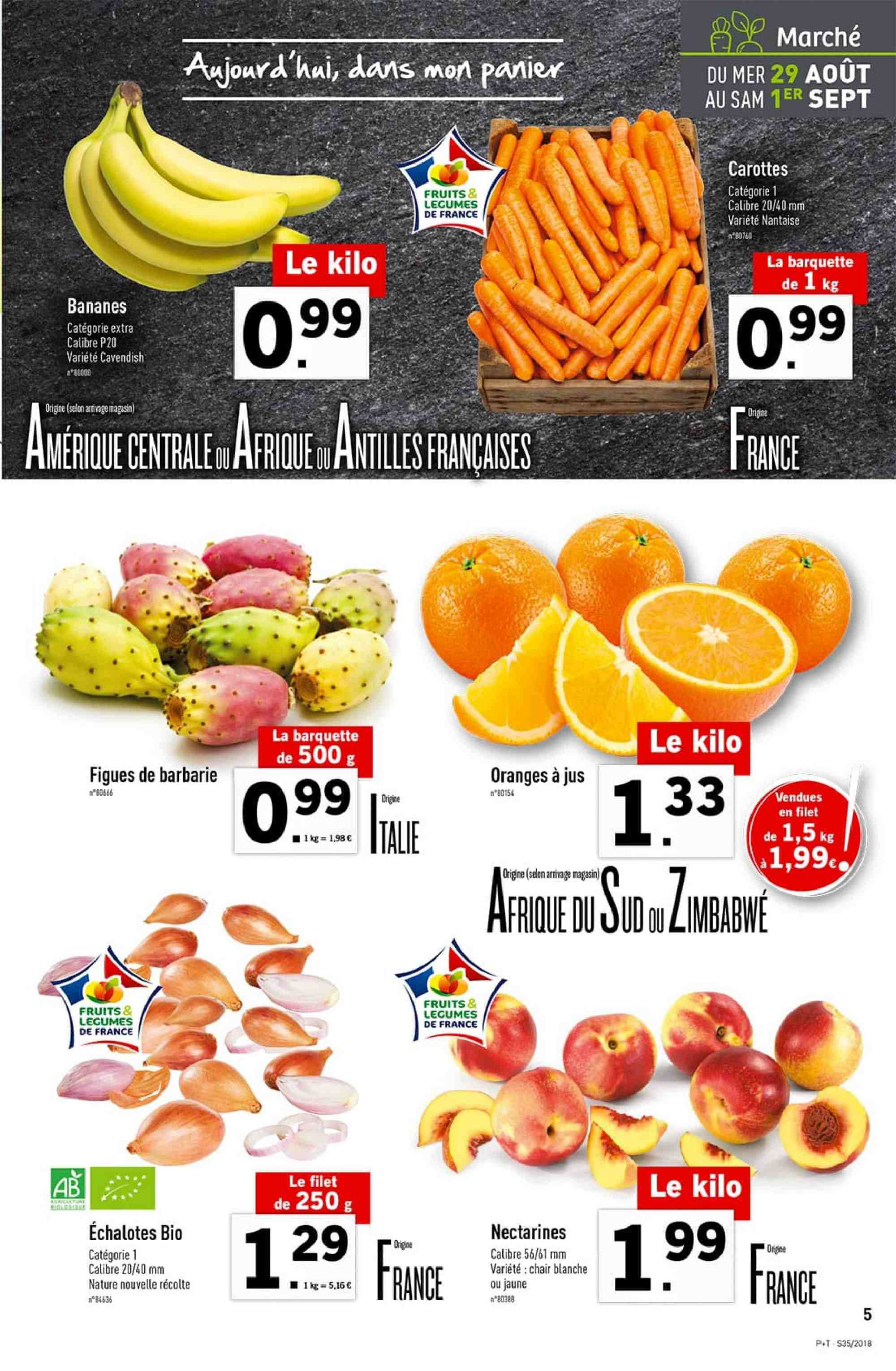 Catalogue Lidl - 29.08.2018 - 04.09.2018. Page 5.